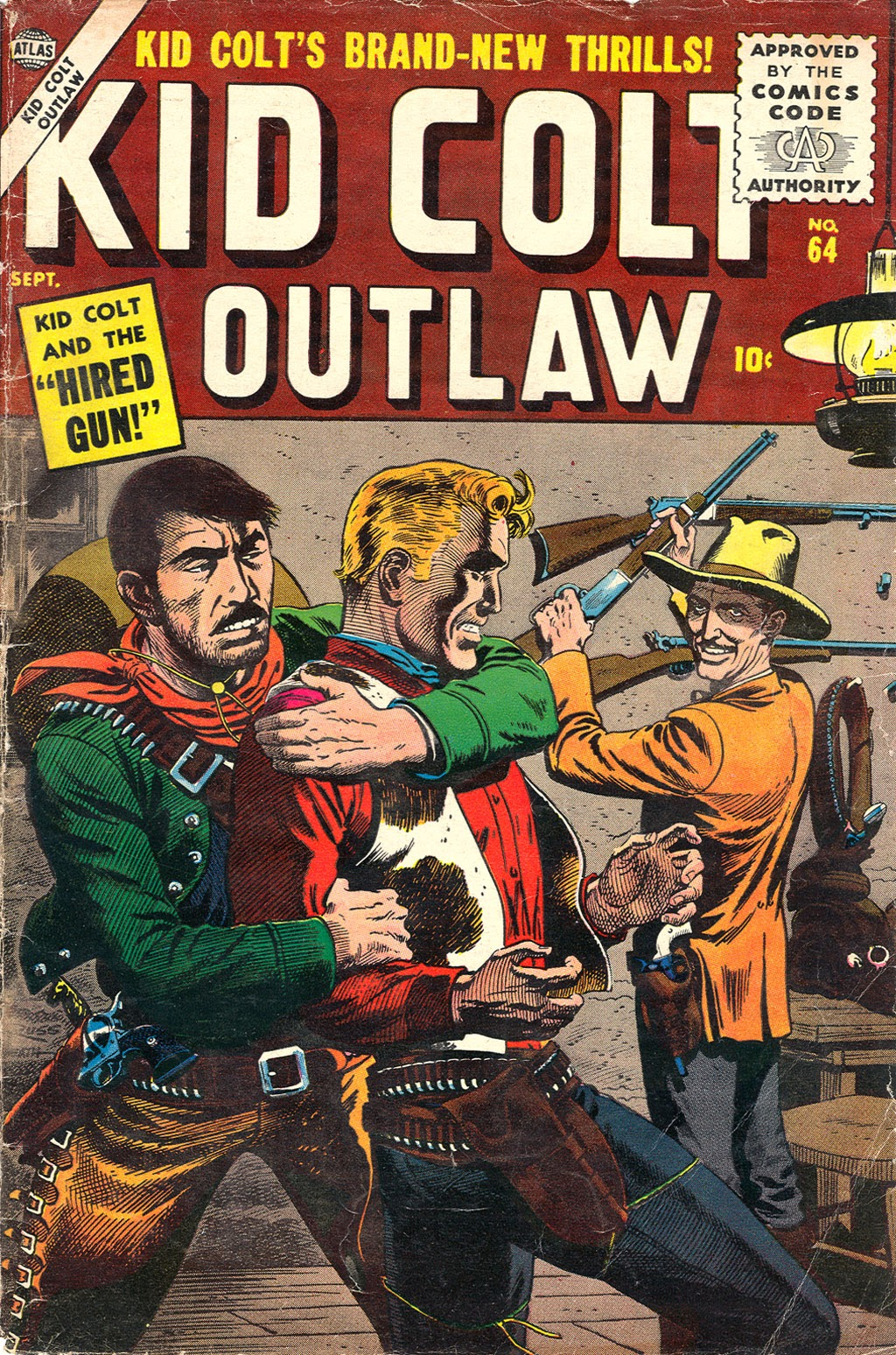 Kid Colt Outlaw issue 64 - Page 1