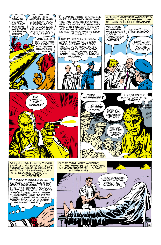 Read online Amazing Adventures (1961) comic -  Issue #1 - 14