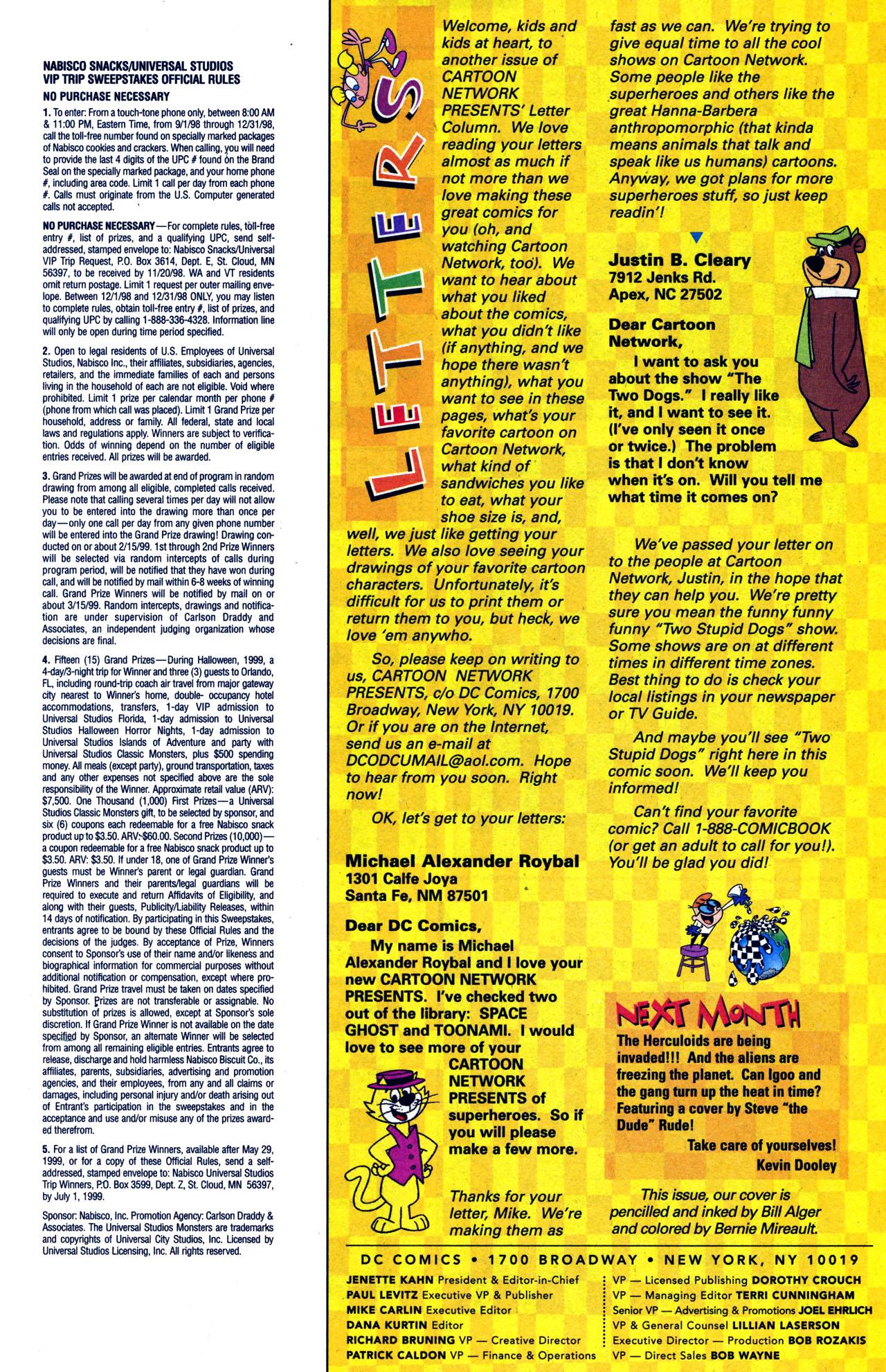 Cartoon Network Presents 16 Read All Comics Online For Free