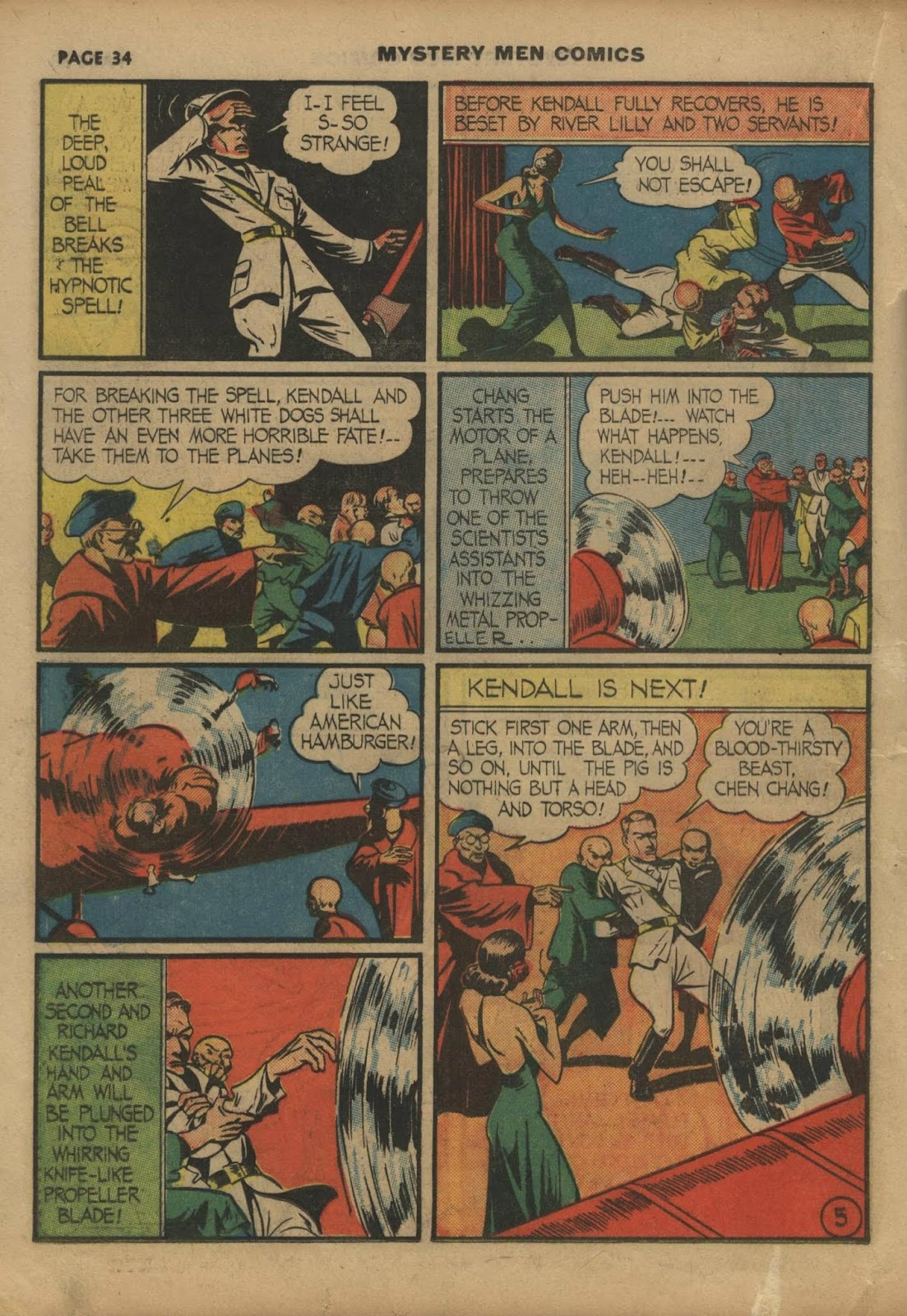 Mystery Men Comics issue 10 - Page 36