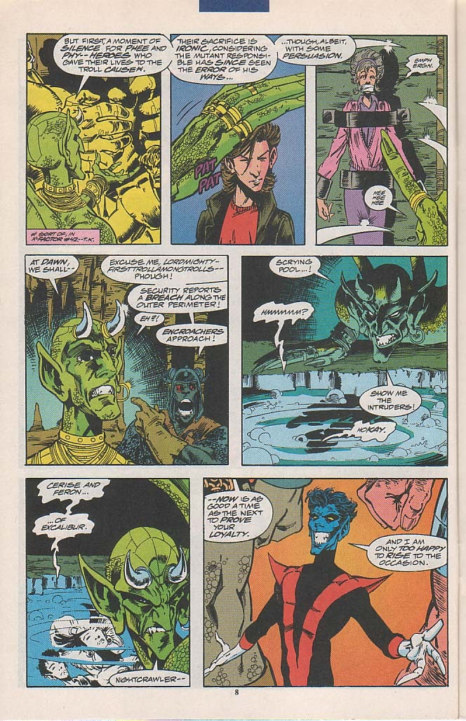 Excalibur (1988) issue 58 - Page 9