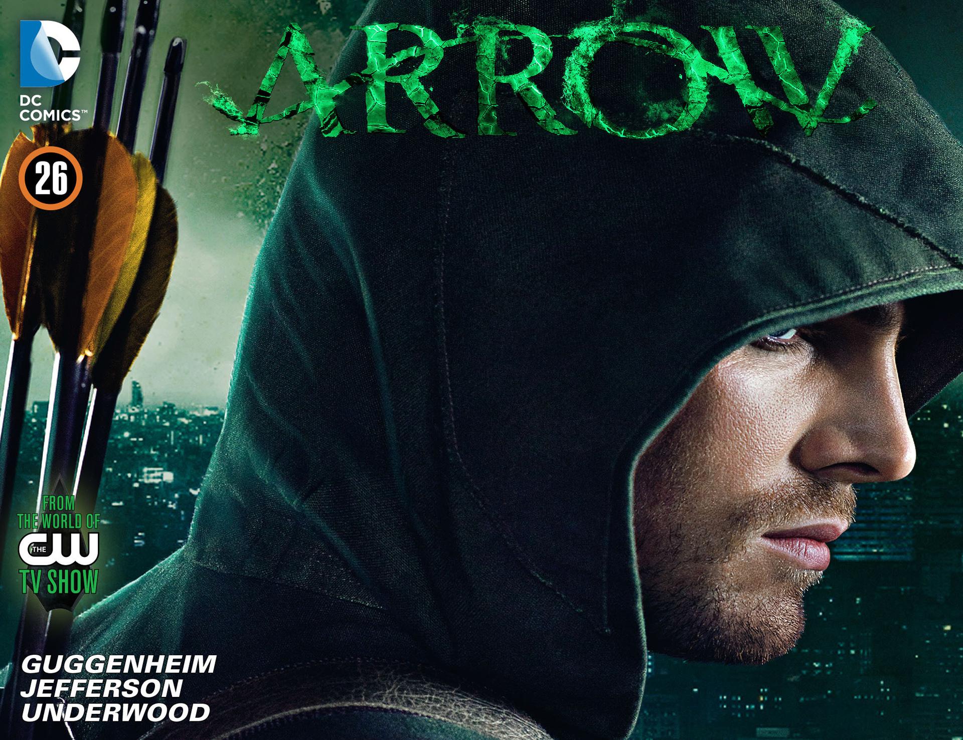 Read online Arrow [II] comic -  Issue #26 - 1