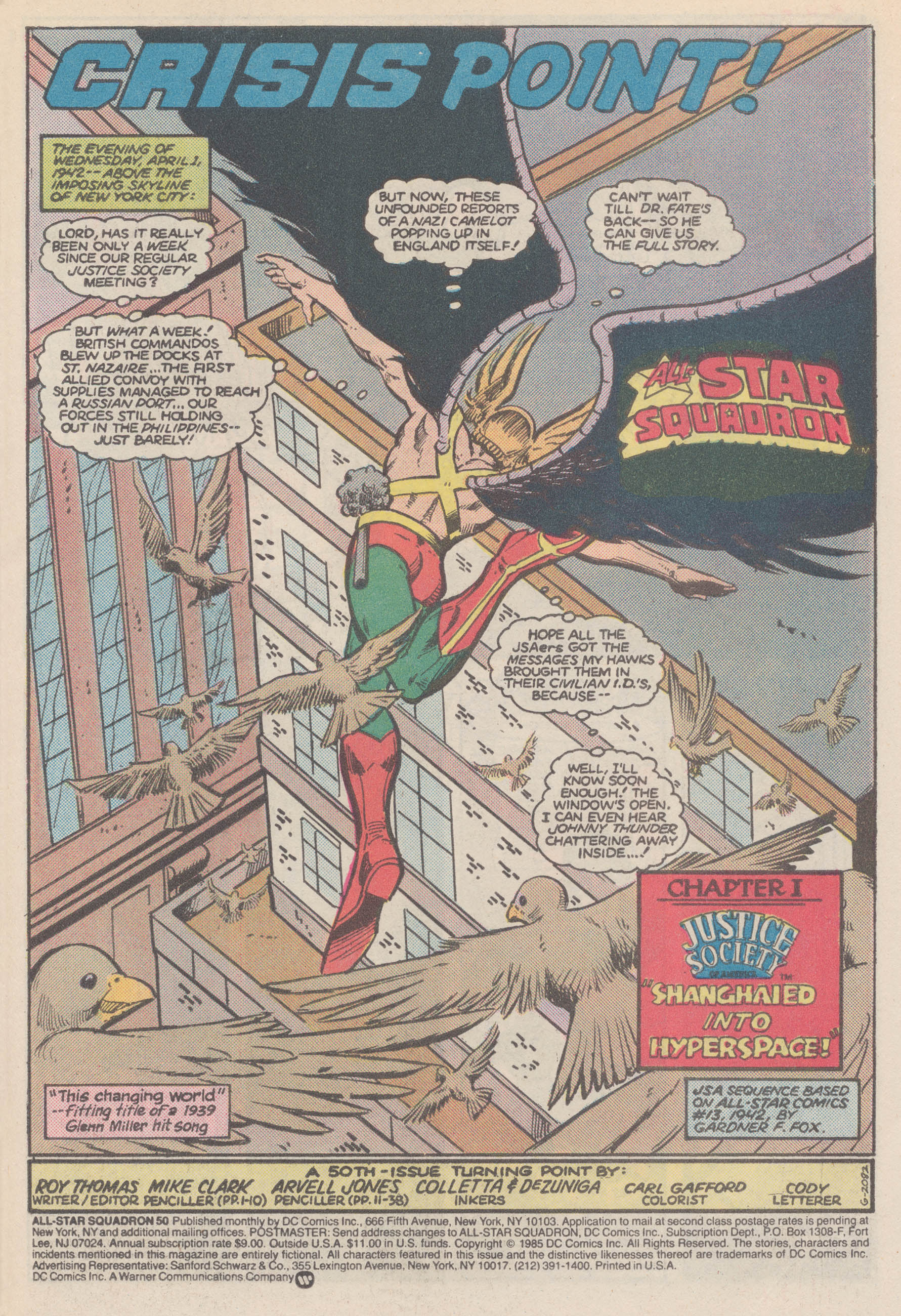 Read online All-Star Squadron comic -  Issue #50 - 4