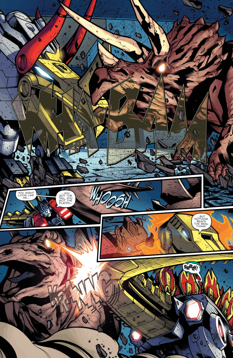 Read online Transformers Prime: Beast Hunters comic -  Issue #4 - 17