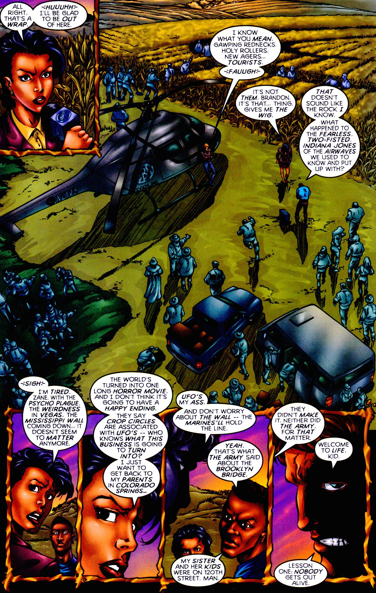 Read online Armageddon (1999) comic -  Issue #1 - 6