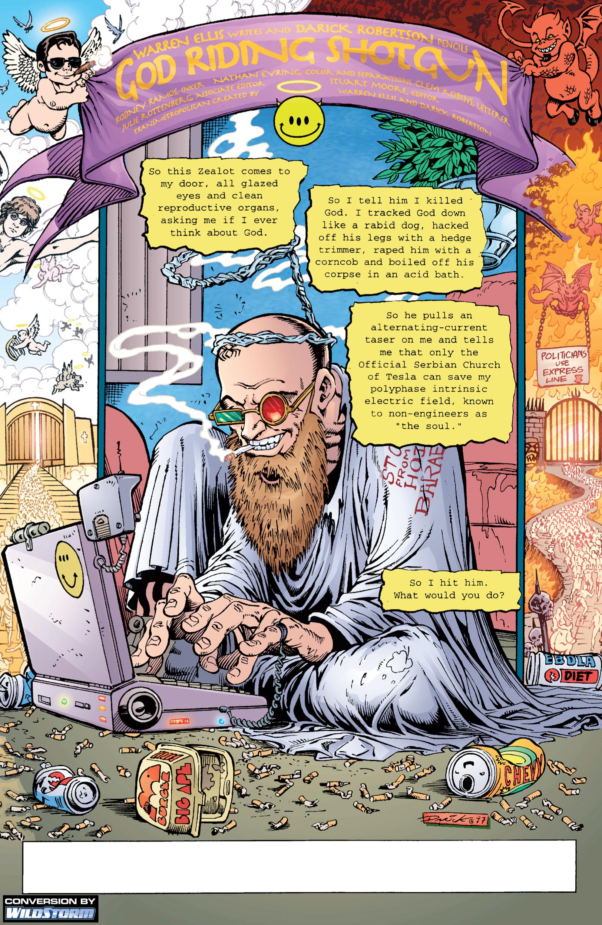 Read online Transmetropolitan comic -  Issue #6 - 2