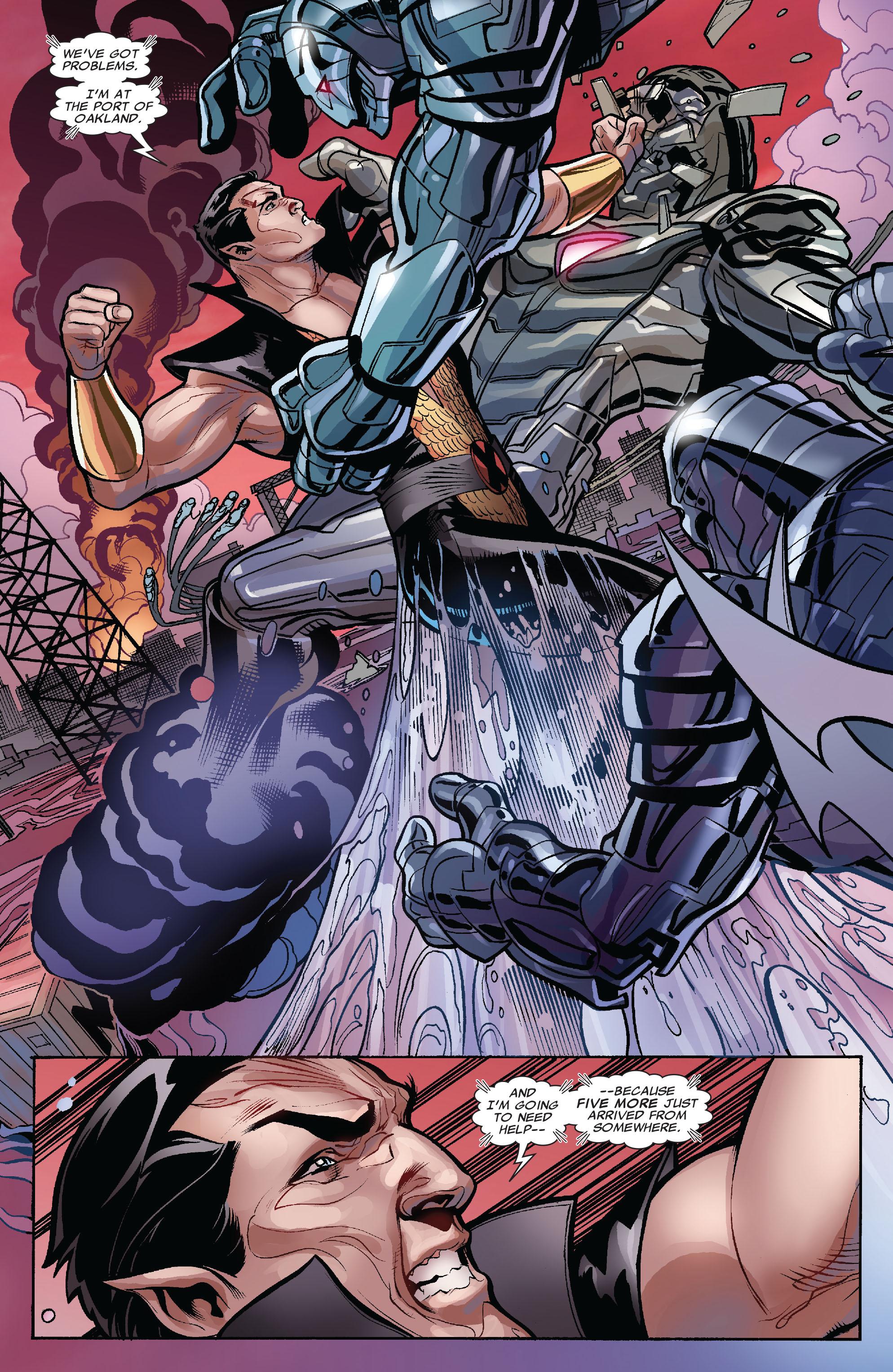 Read online Uncanny X-Men (1963) comic -  Issue #525 - 14
