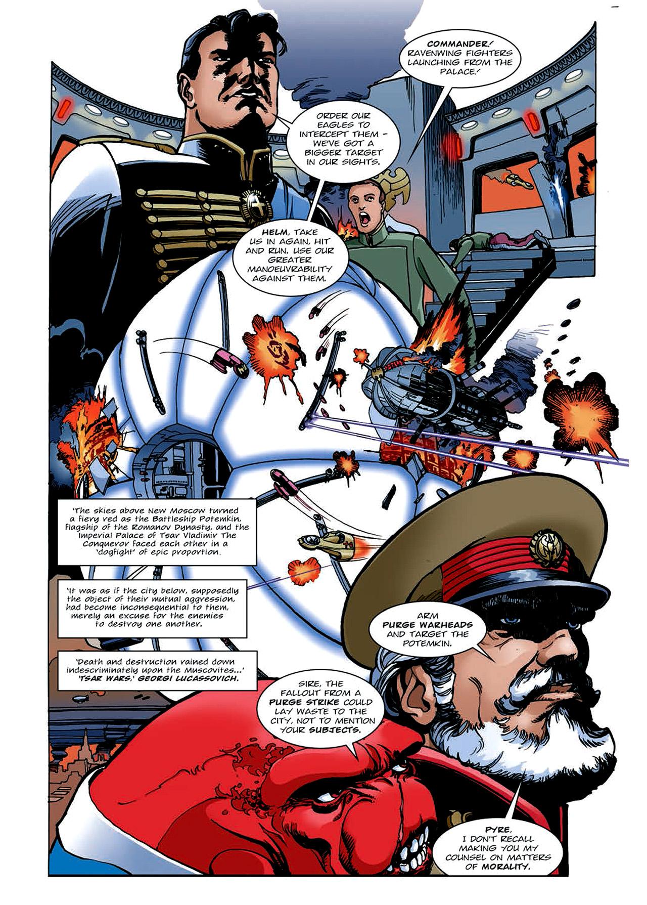 Read online Nikolai Dante comic -  Issue # TPB 4 - 138
