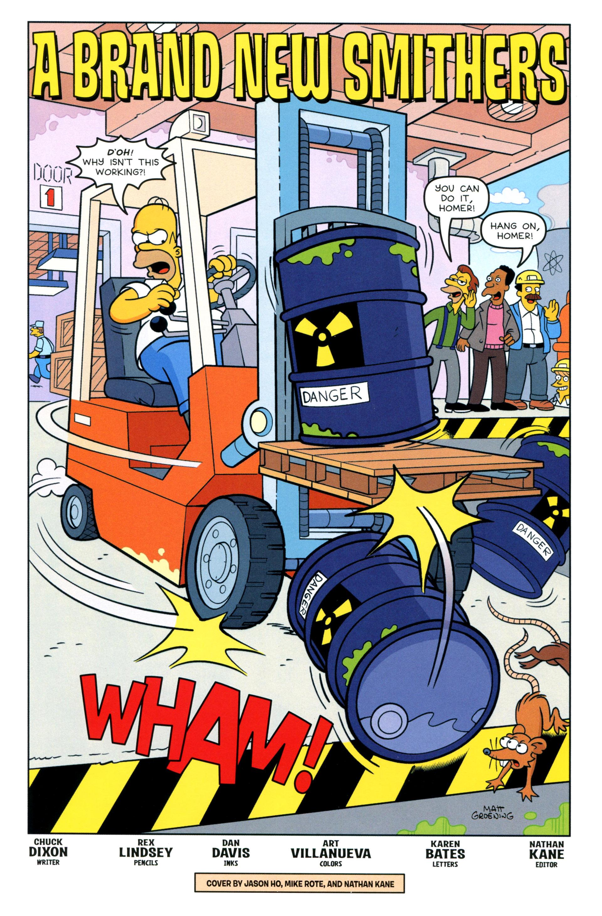 Read online Simpsons Comics comic -  Issue #205 - 3