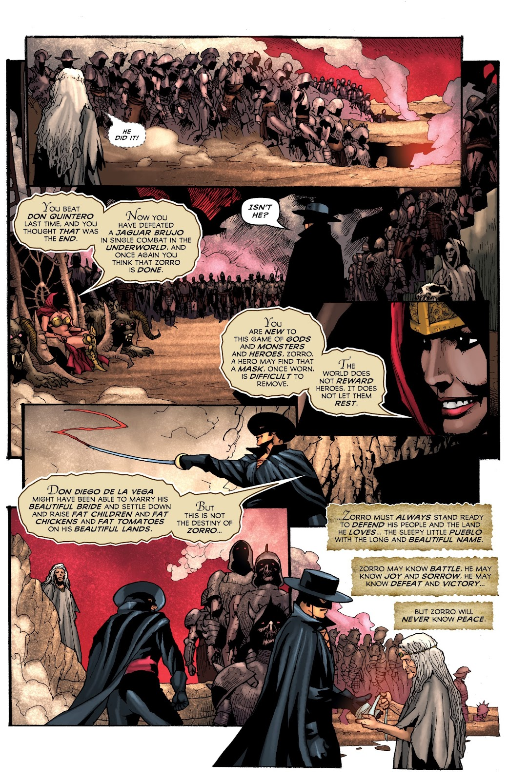 Read online Zorro: Swords of Hell comic -  Issue #4 - 21