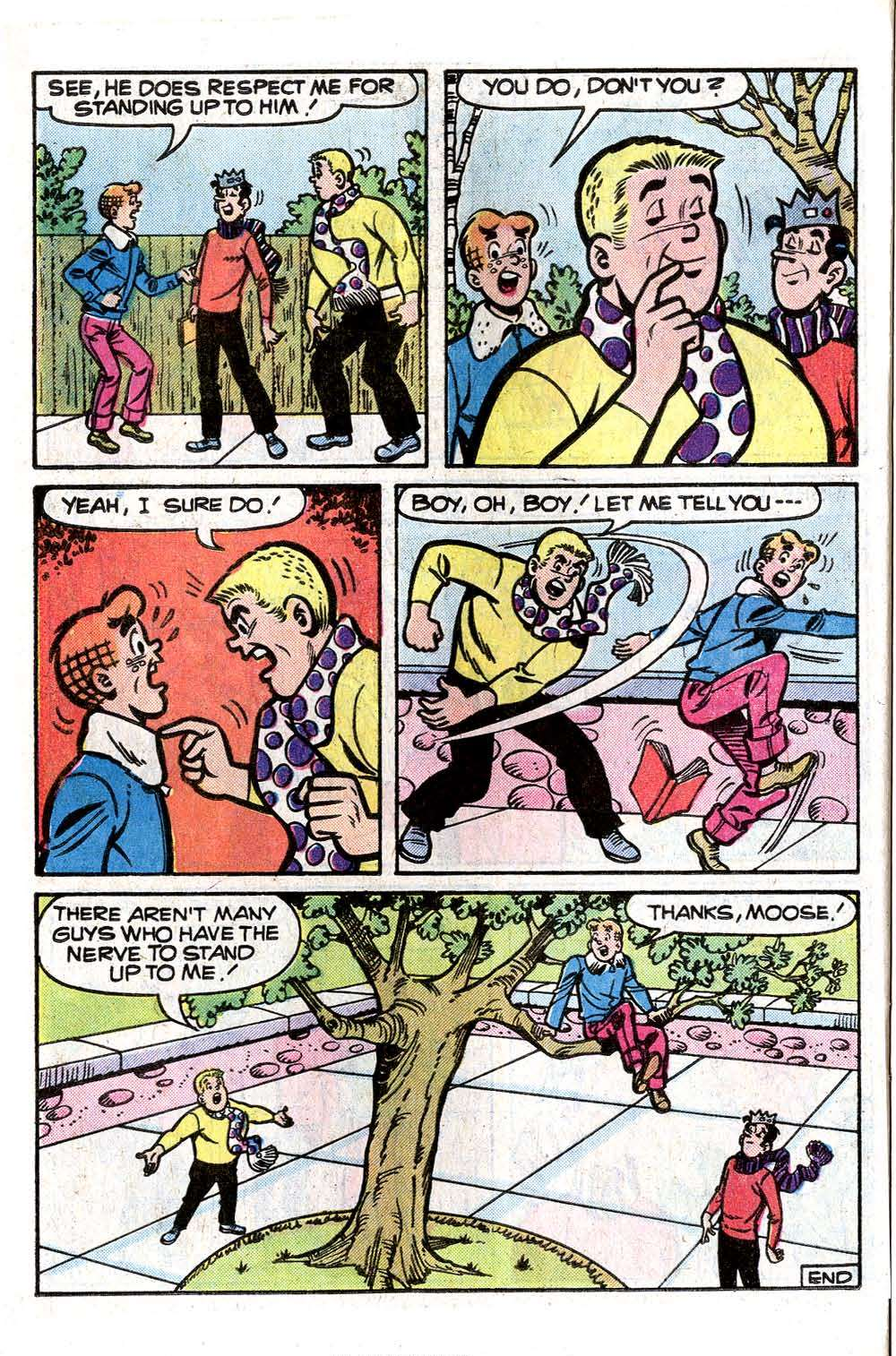 Read online Archie (1960) comic -  Issue #261 - 24