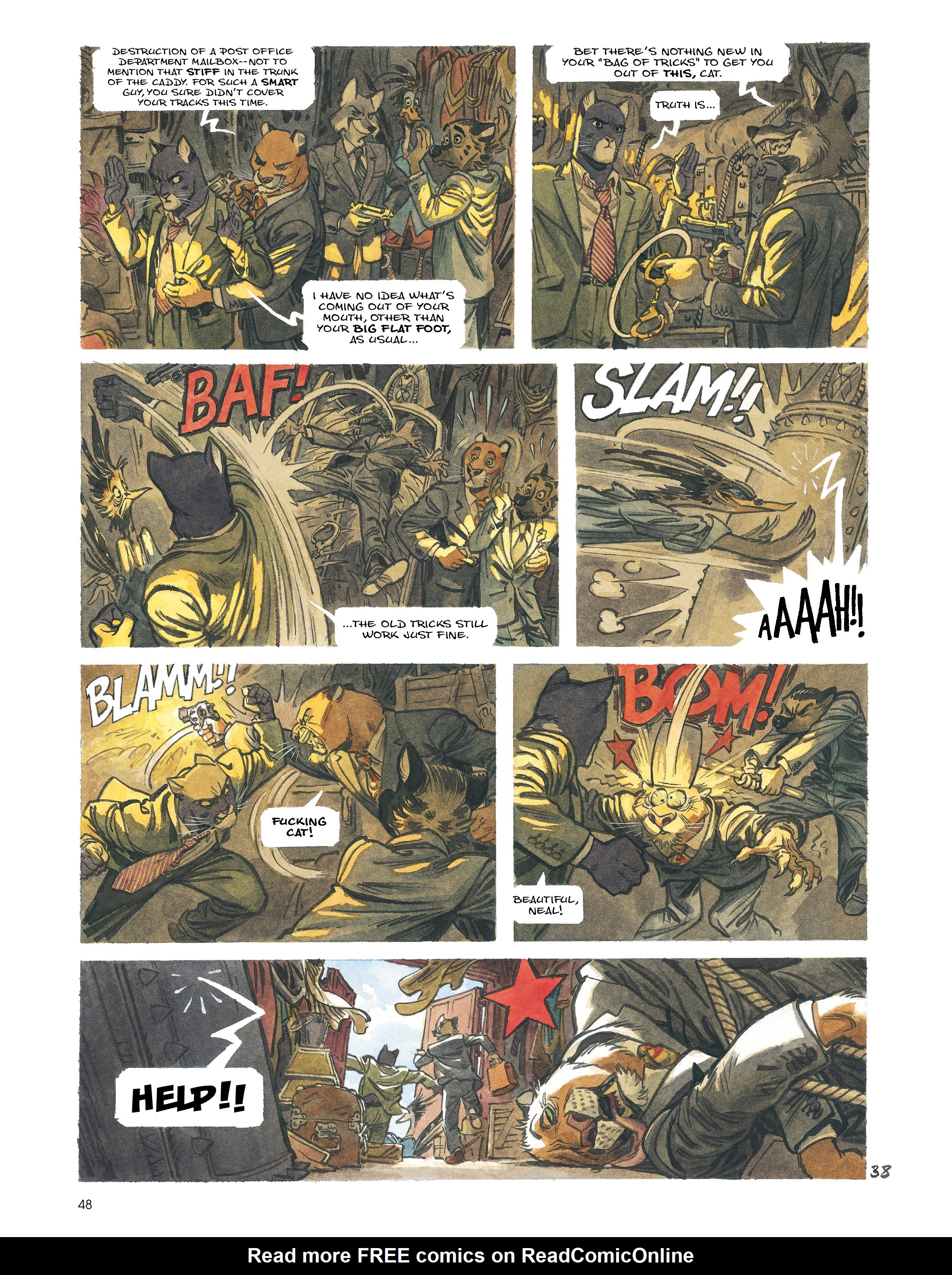 Read online Blacksad: Amarillo comic -  Issue # Full - 47