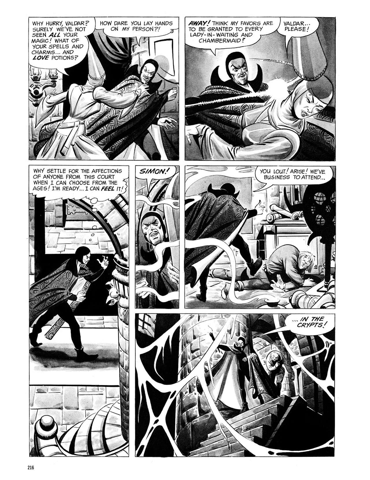 Read online Eerie Archives comic -  Issue # TPB 1 - 217