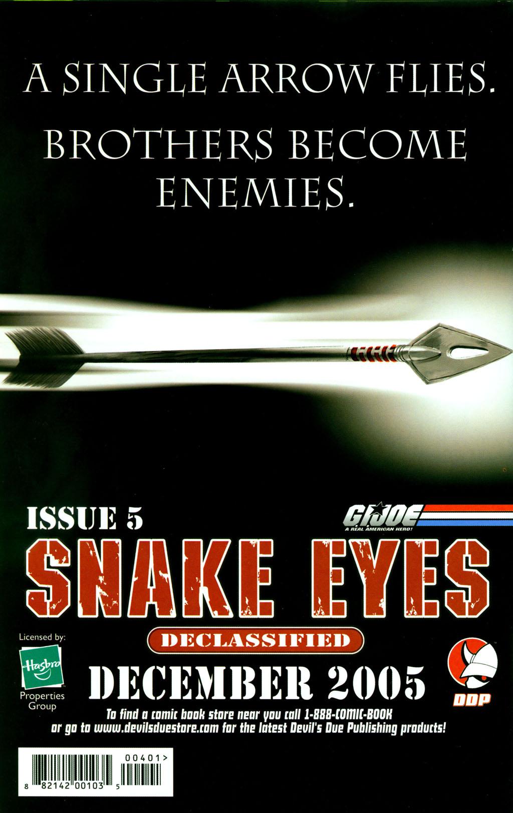Read online Snake Eyes: Declassified comic -  Issue #4 - 24
