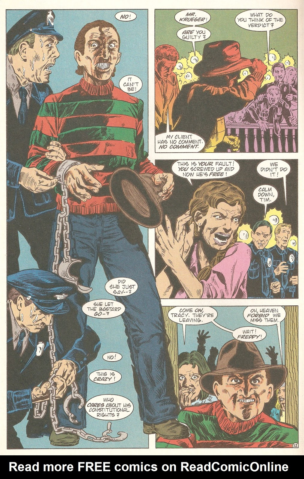 Read online A Nightmare on Elm Street: The Beginning comic -  Issue #2 - 14