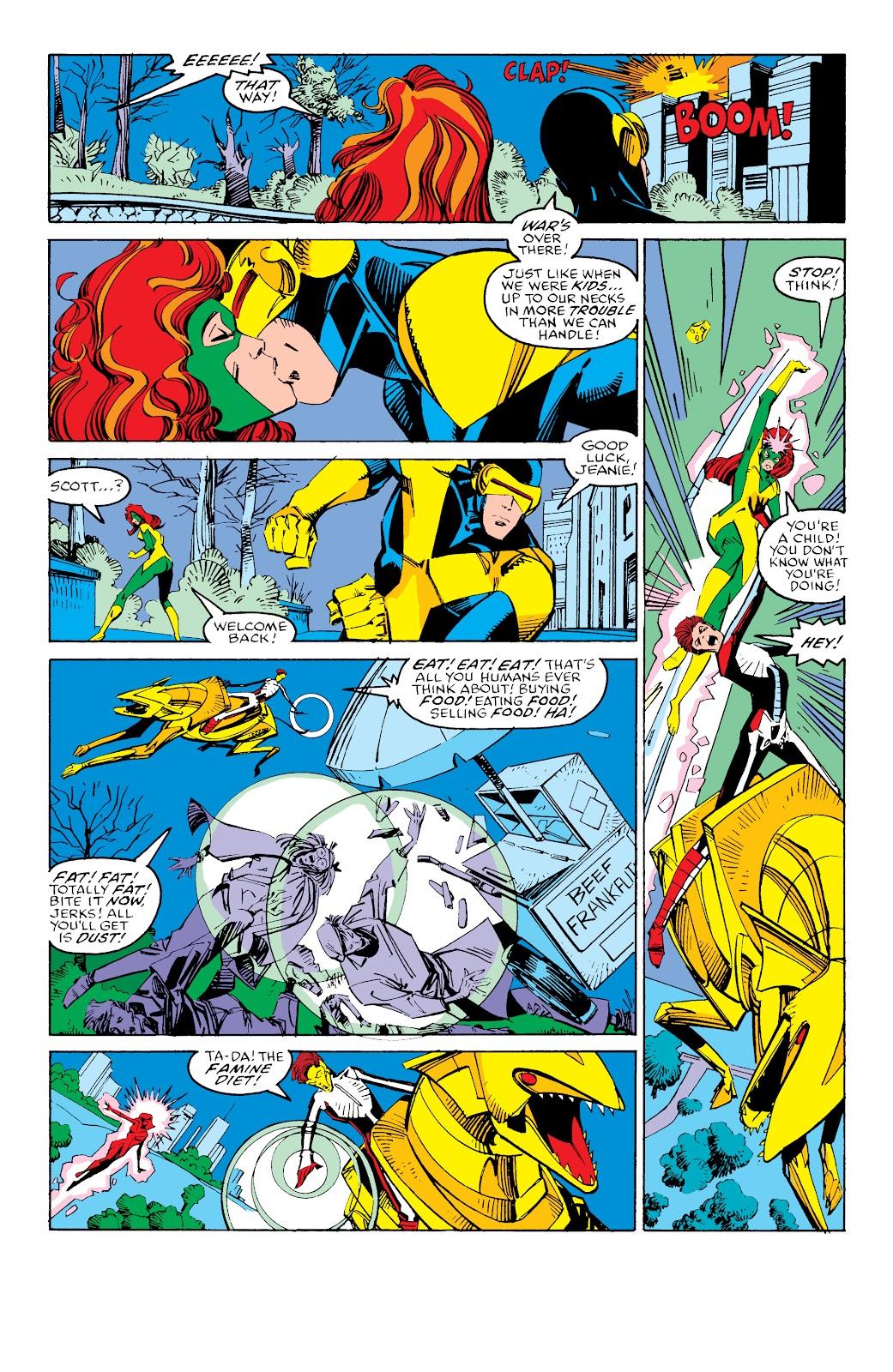 Read online X-Men Milestones: Fall of the Mutants comic -  Issue # TPB (Part 3) - 14
