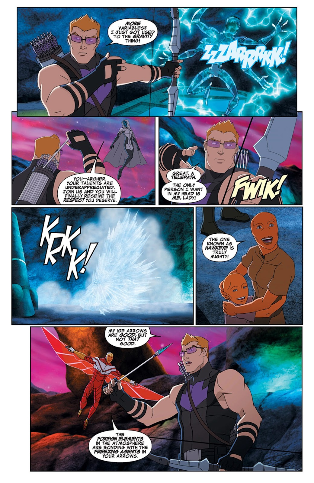 Read online Marvel Universe Avengers Assemble Season 2 comic -  Issue #15 - 19
