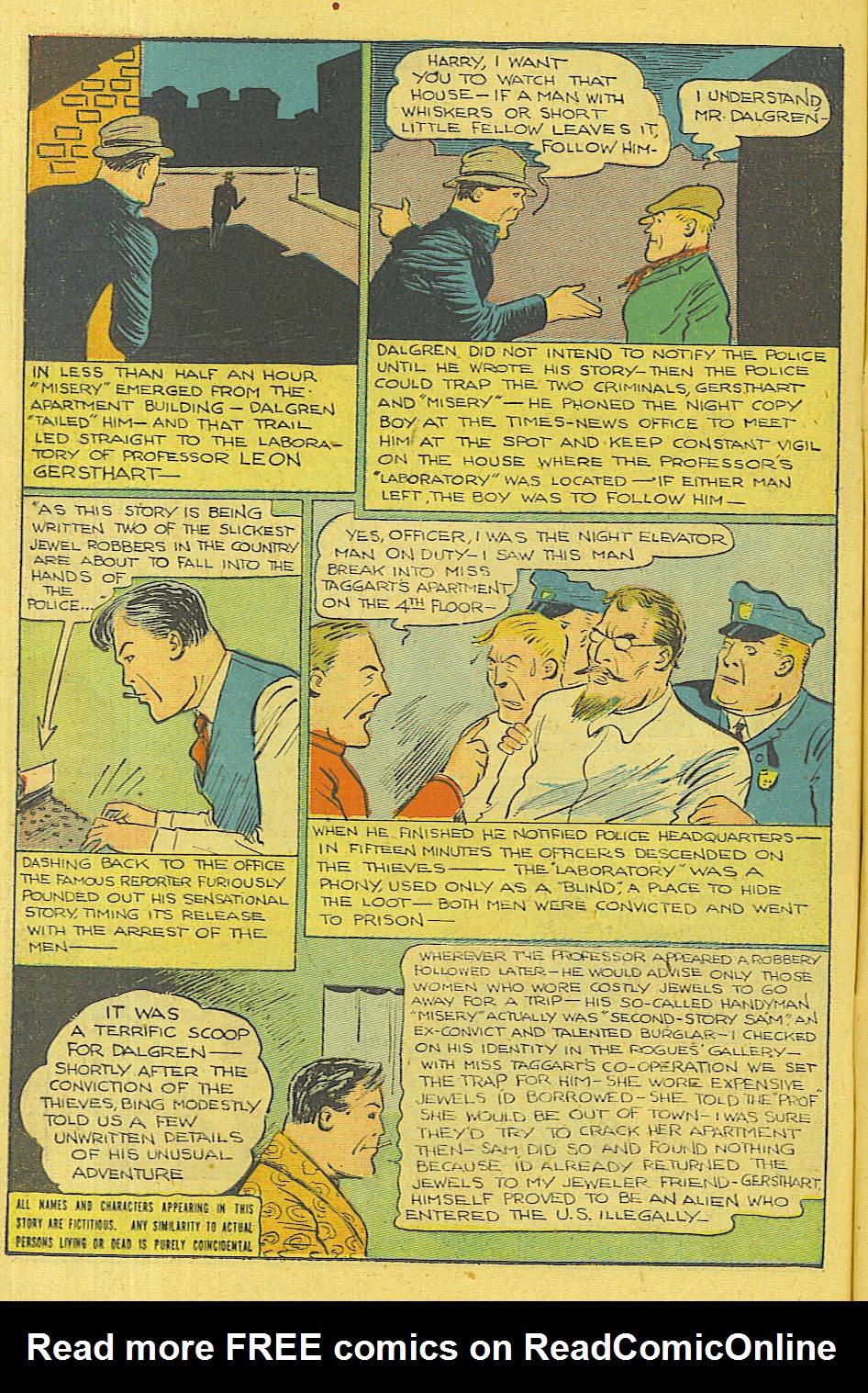 Read online Shadow Comics comic -  Issue #71 - 15