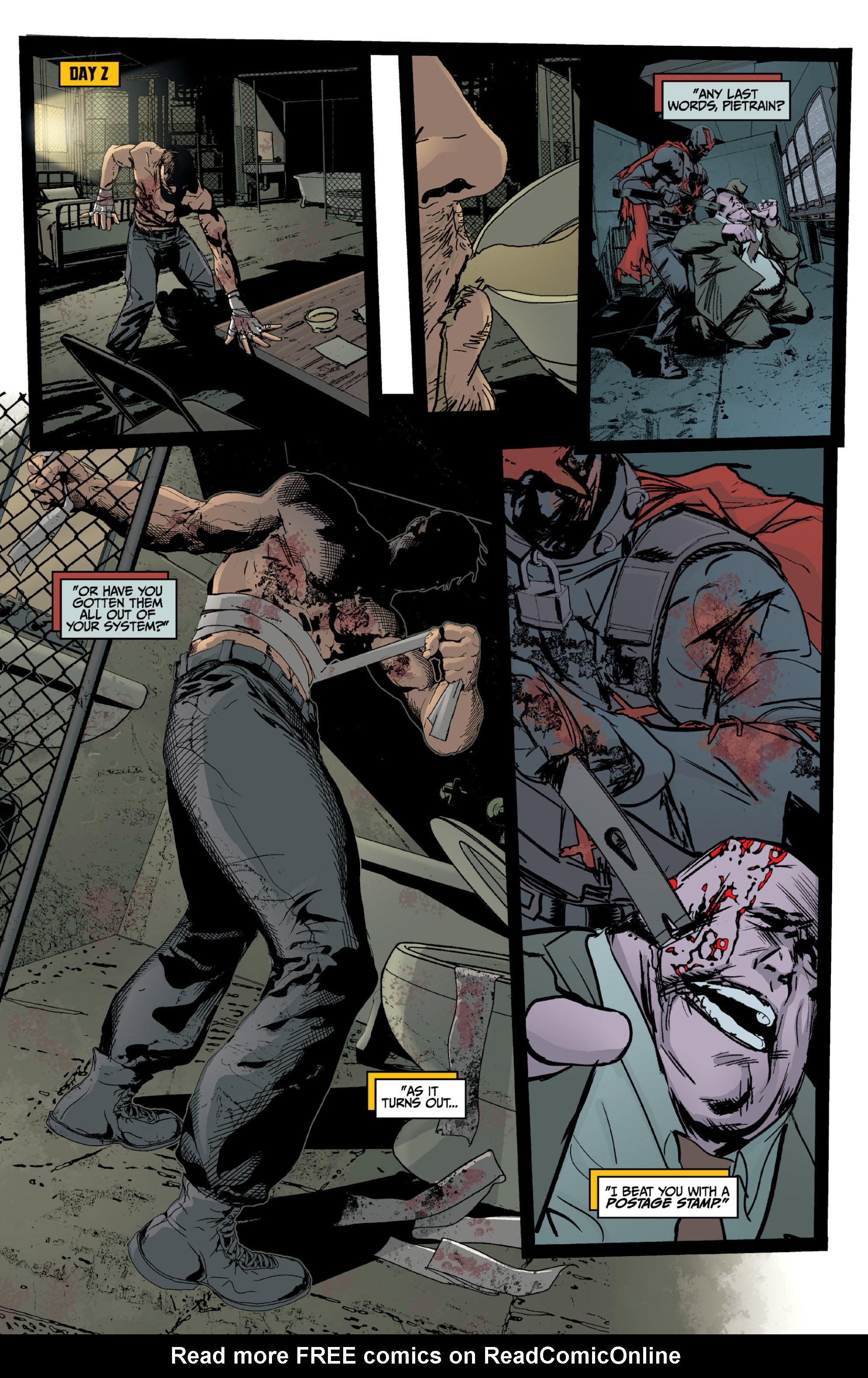 Read online X: Big Bad comic -  Issue # Full - 40