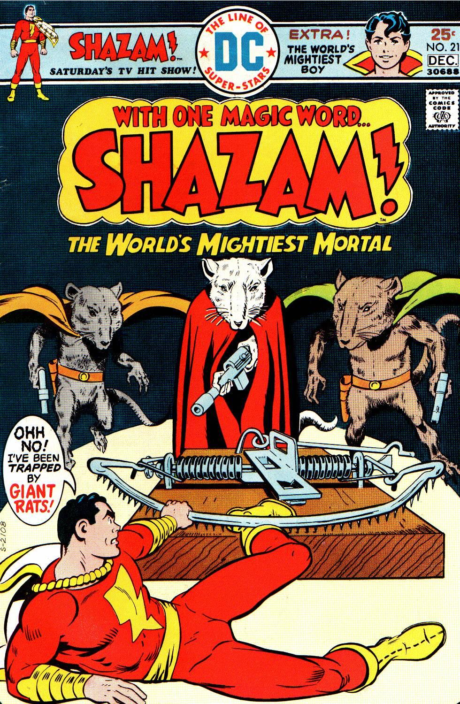 Read online Shazam! (1973) comic -  Issue #21 - 1