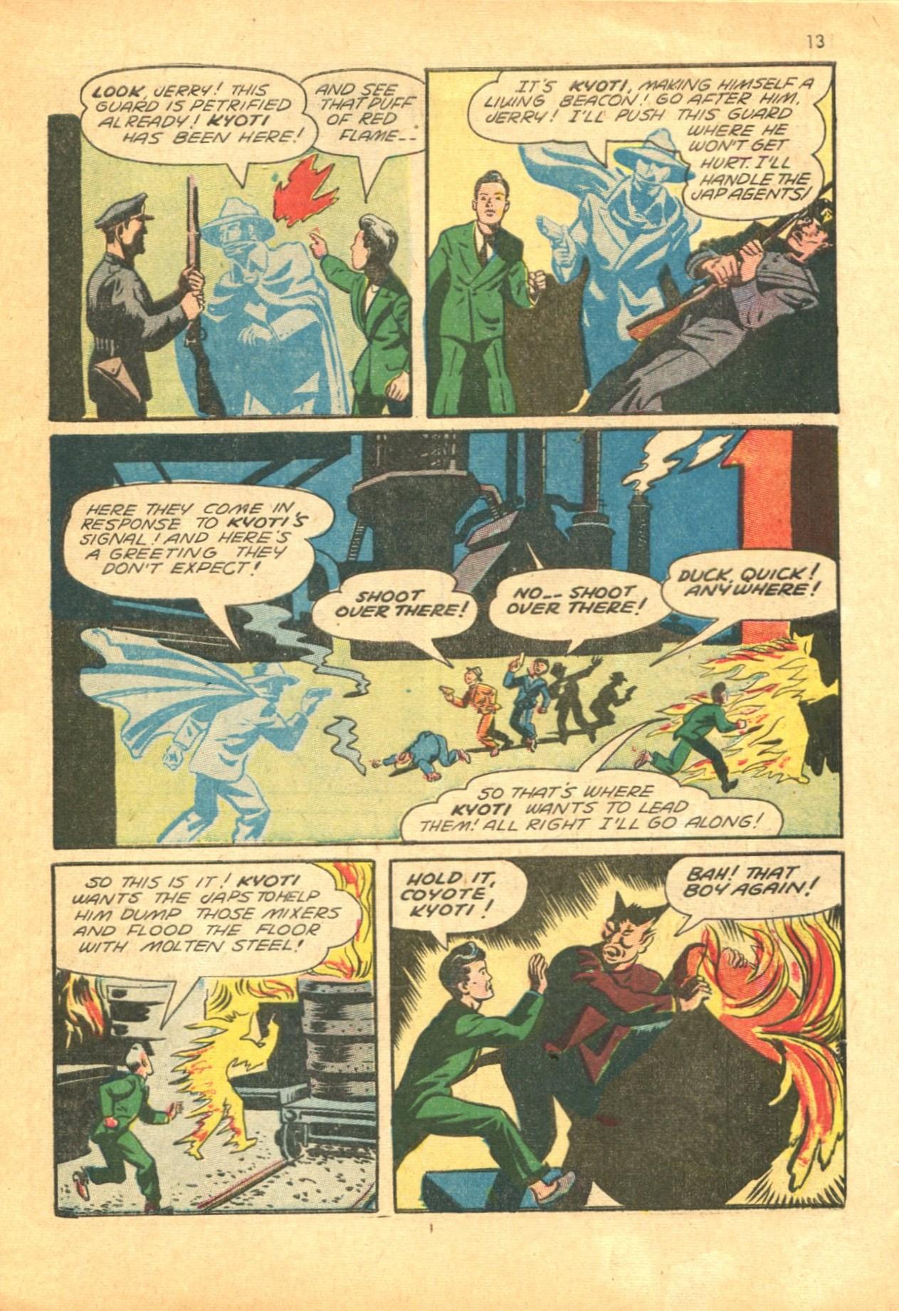 Read online Shadow Comics comic -  Issue #24 - 13