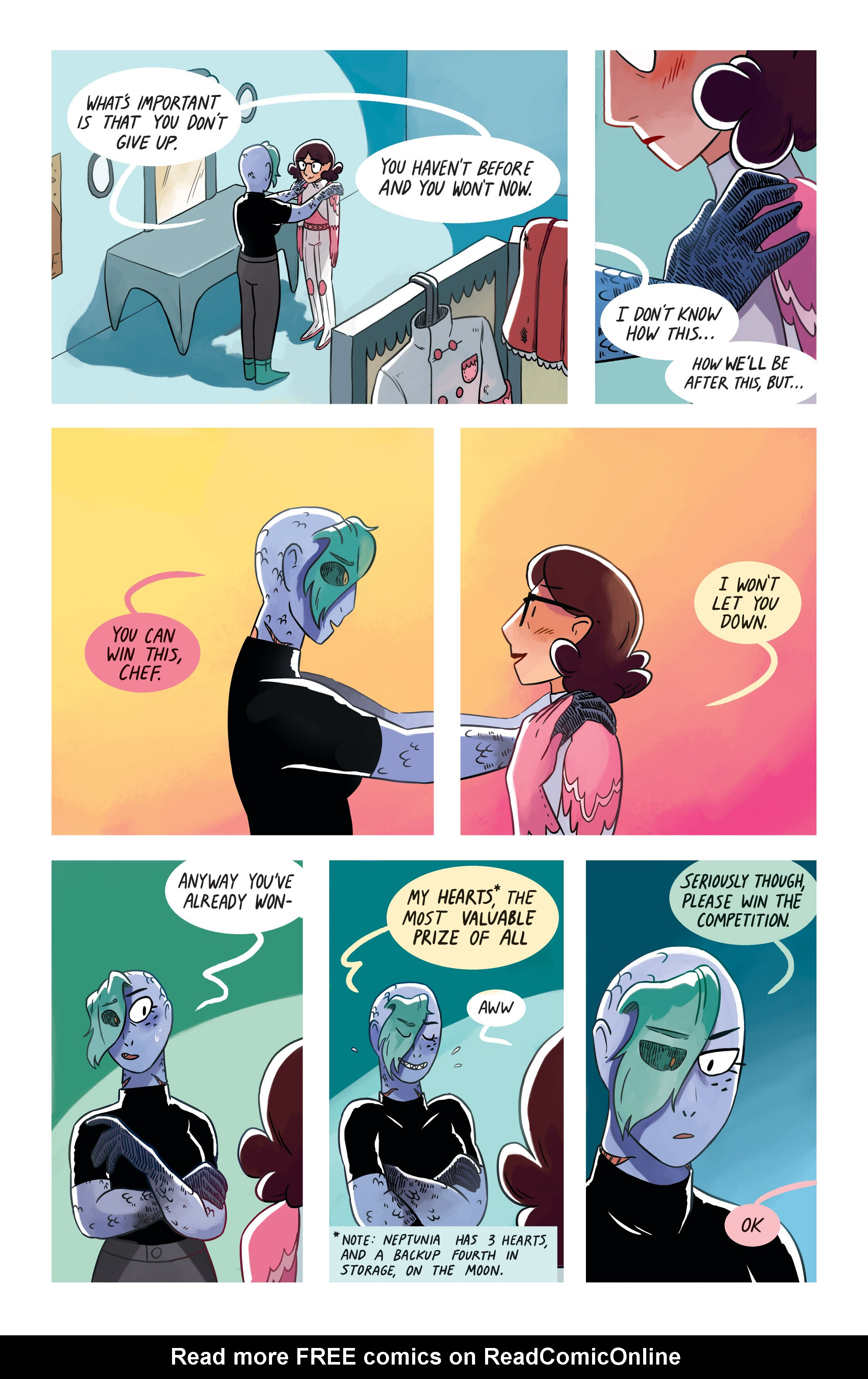 Read online Space Battle Lunchtime comic -  Issue #8 - 6