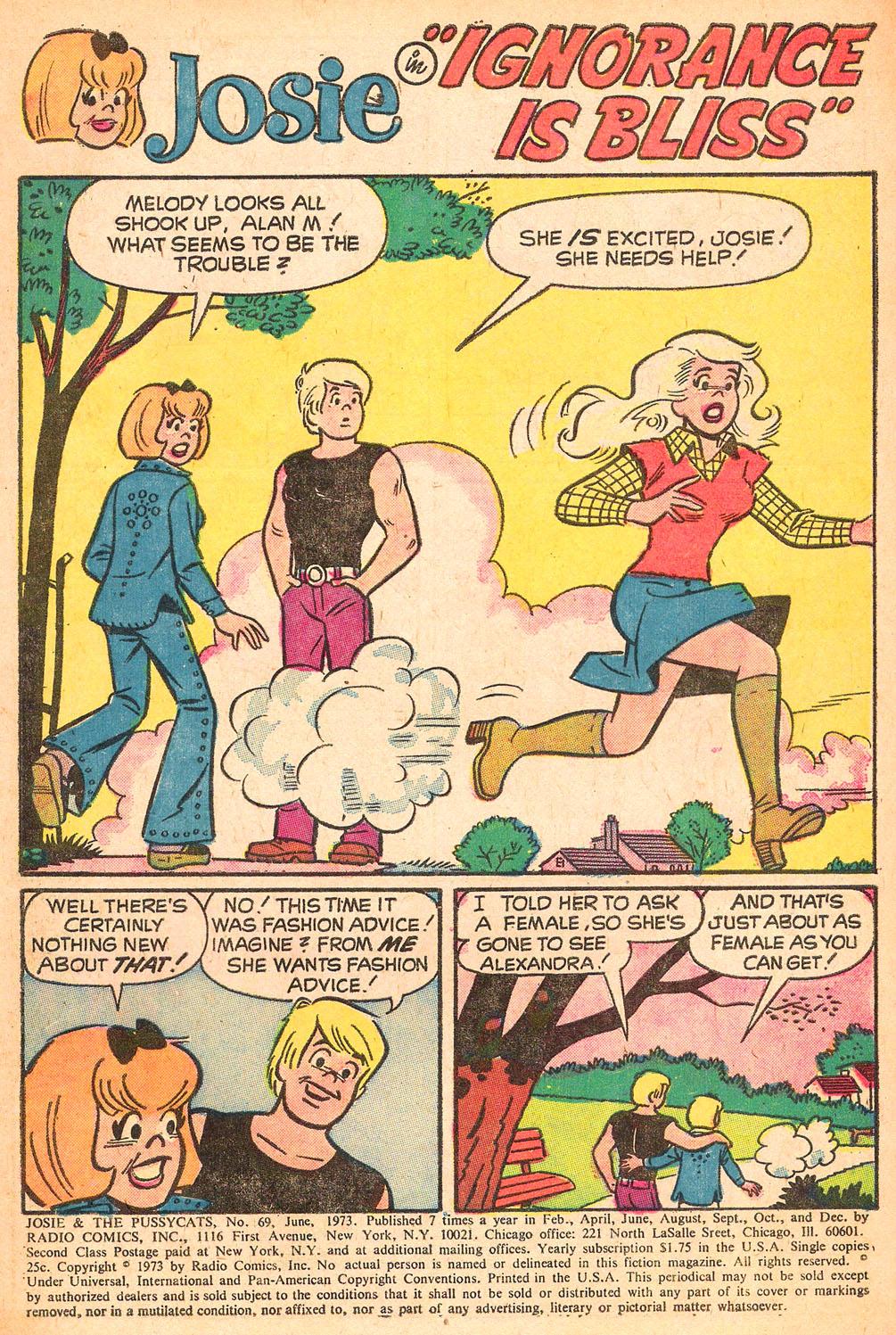 Read online She's Josie comic -  Issue #69 - 3