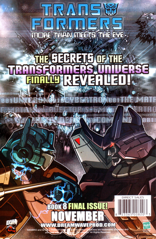 Read online Transformers Armada comic -  Issue #16 - 29