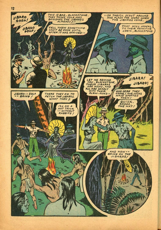 Read online Super-Magician Comics comic -  Issue #9 - 12