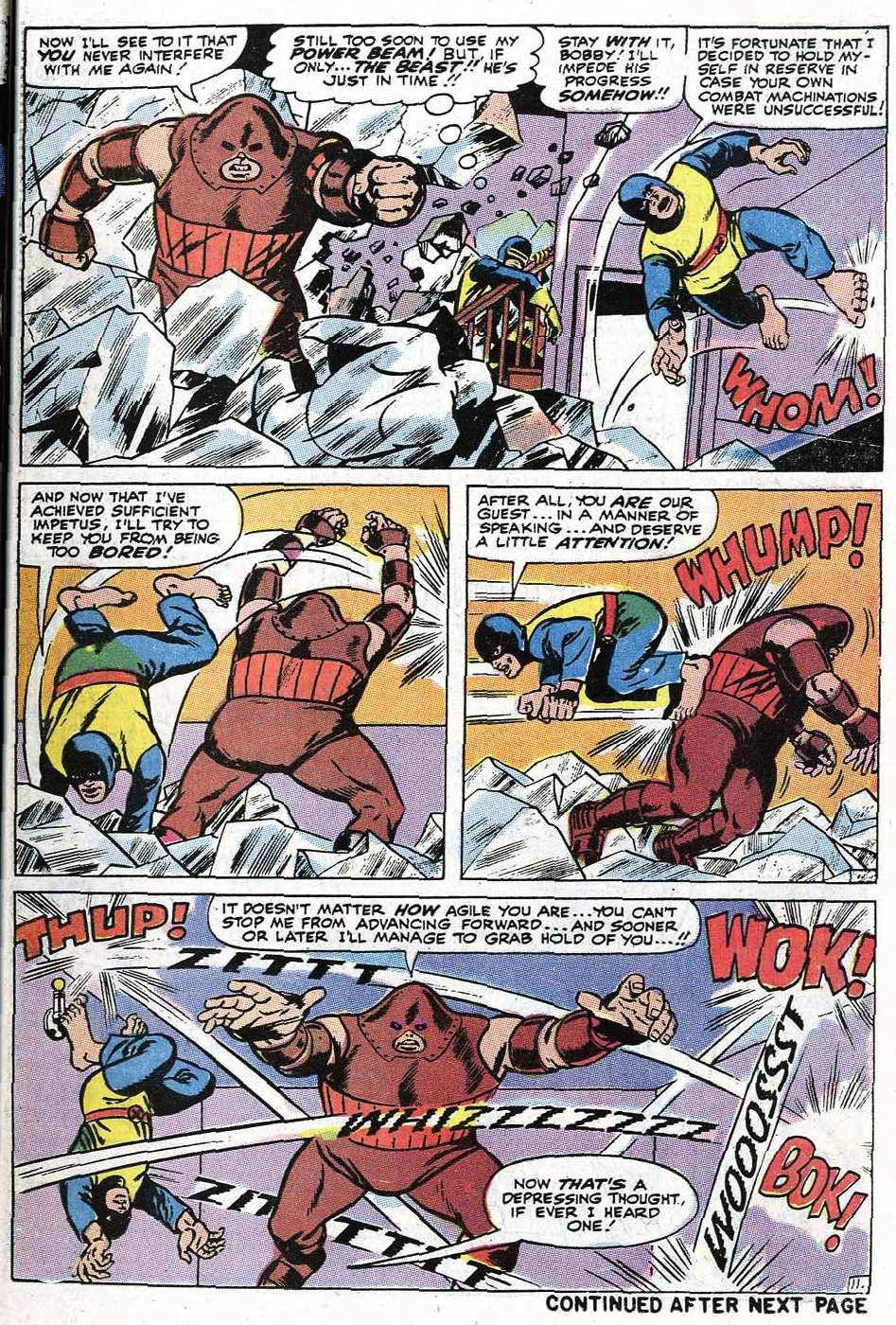 Read online Uncanny X-Men (1963) comic -  Issue #67 - 37