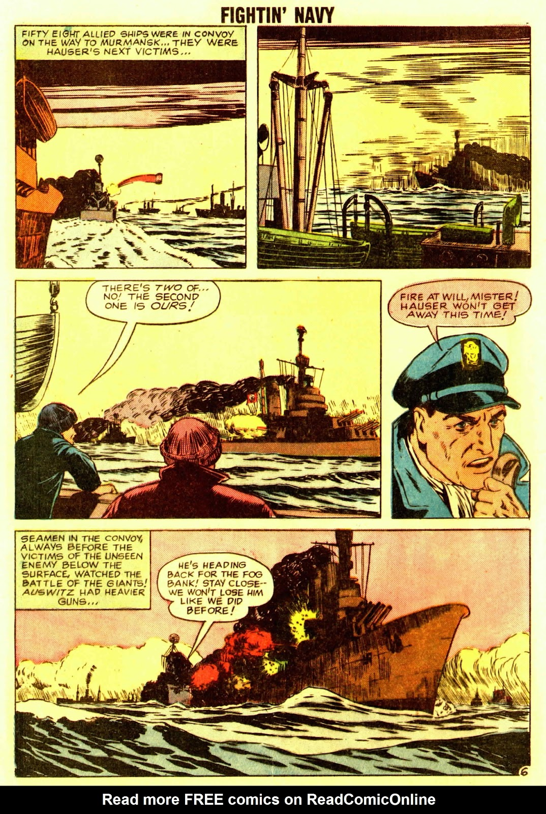 Read online Fightin' Navy comic -  Issue #83 - 80