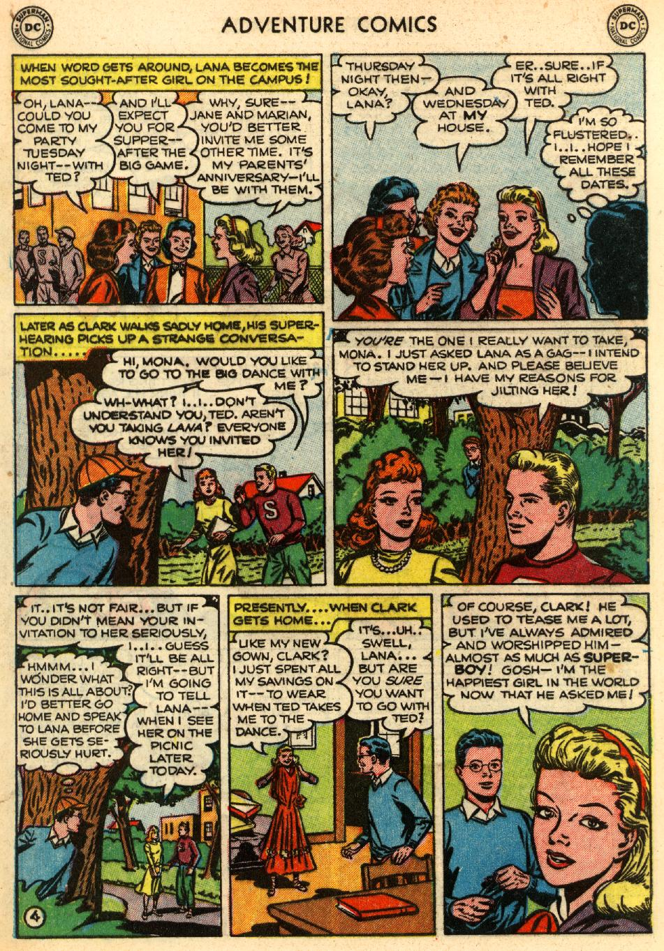 Read online Adventure Comics (1938) comic -  Issue #170 - 6