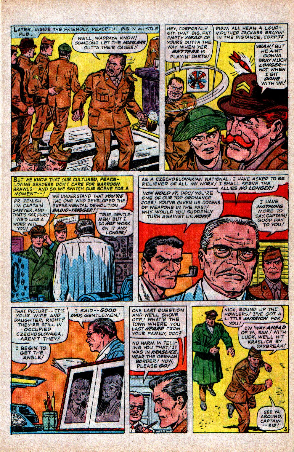 Read online Sgt. Fury comic -  Issue #21 - 5