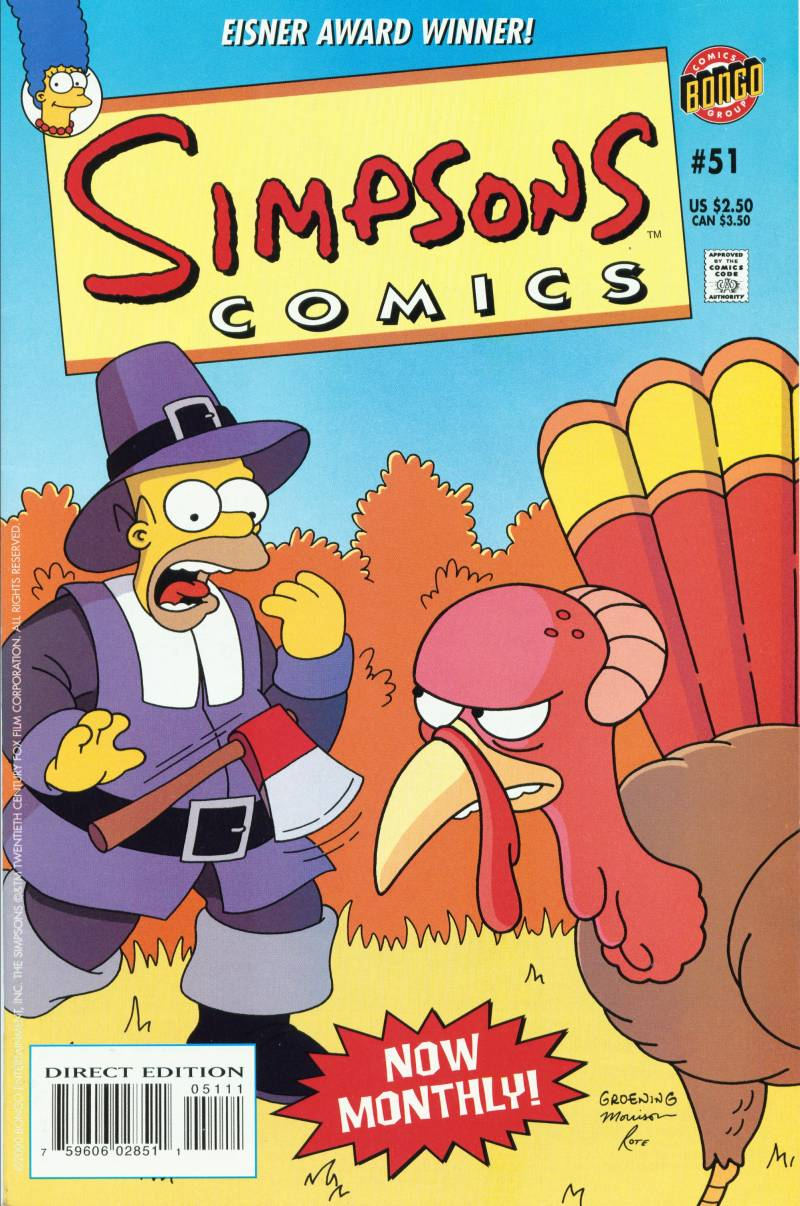 Read online Simpsons Comics comic -  Issue #51 - 1