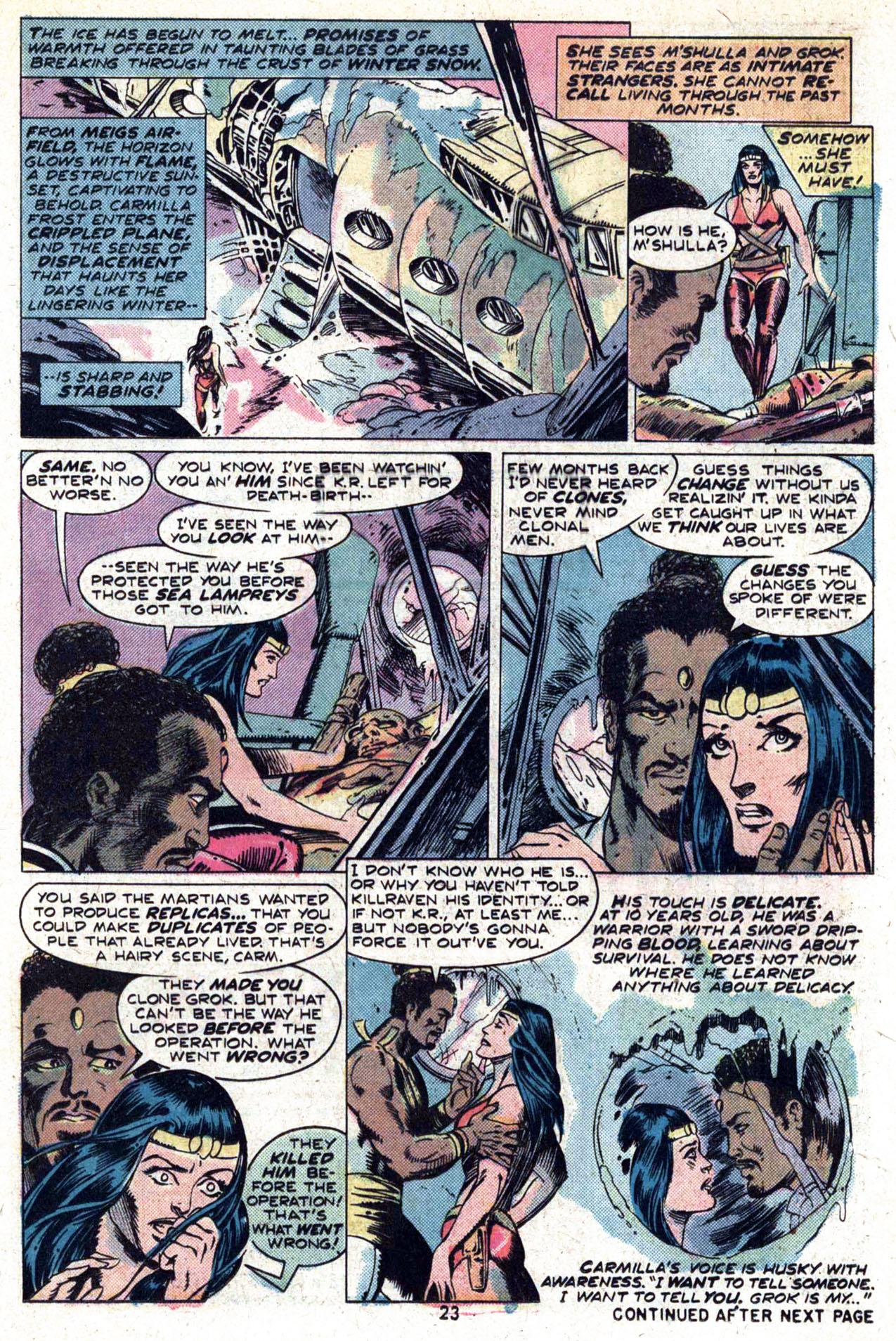 Read online Amazing Adventures (1970) comic -  Issue #29 - 25