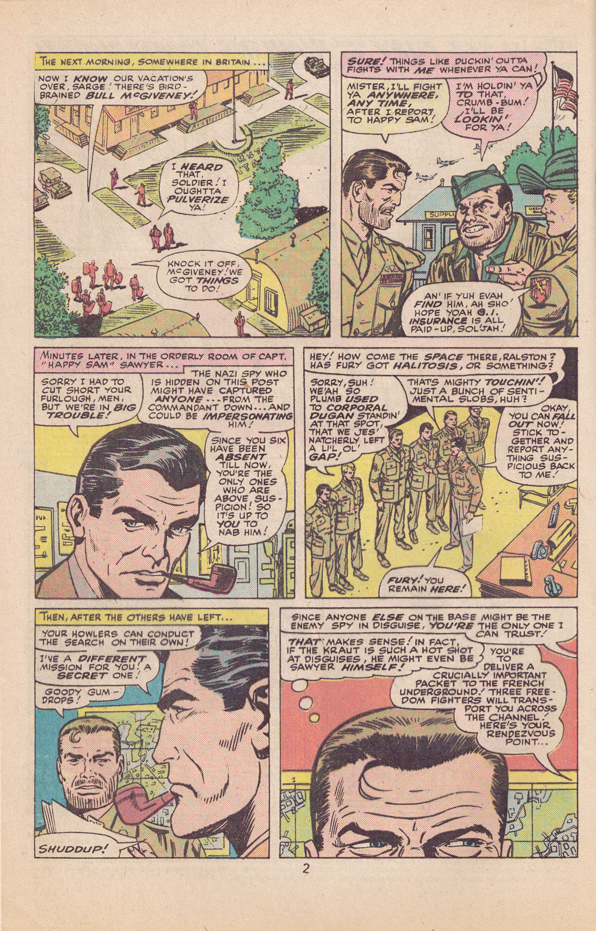 Read online Sgt. Fury comic -  Issue #127 - 4