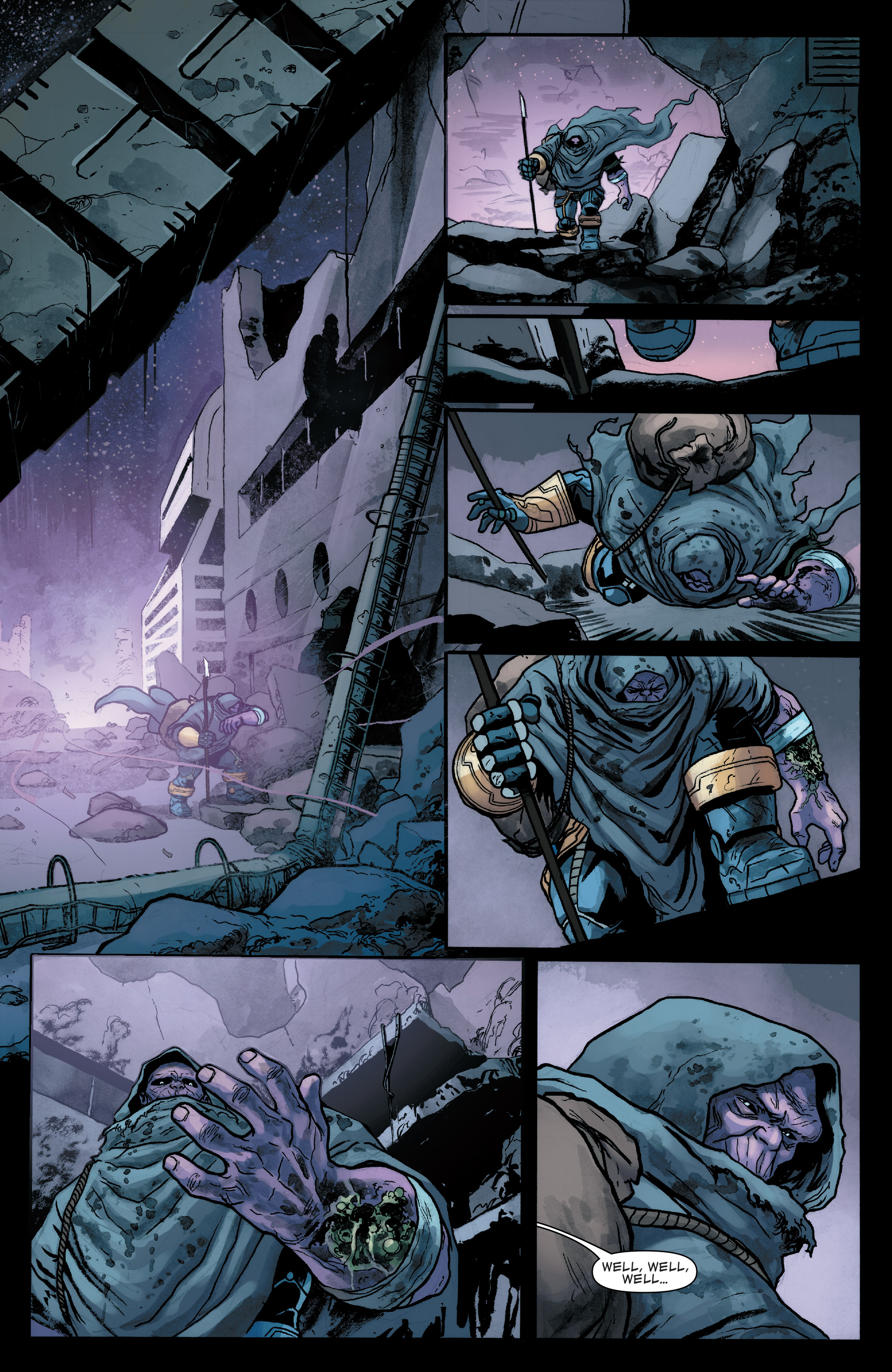 Read online Thanos (2016) comic -  Issue #7 - 12