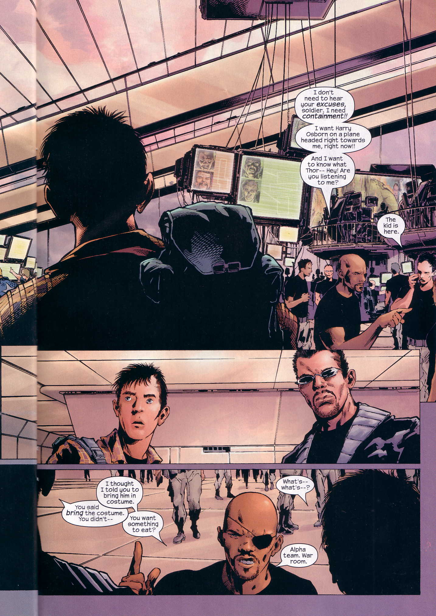 Read online Ultimate Six comic -  Issue #3 - 18
