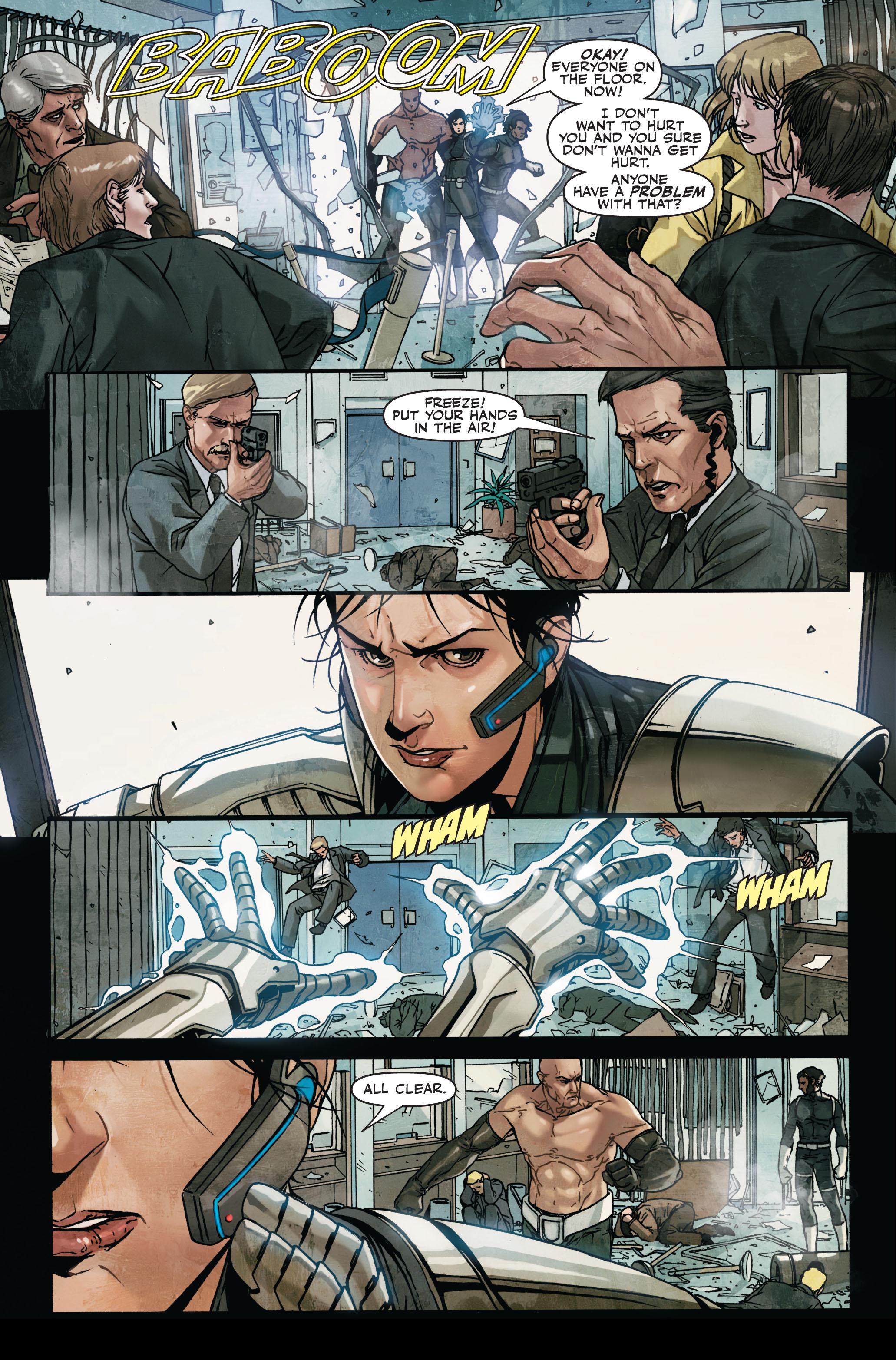Read online Secret Warriors comic -  Issue #7 - 6