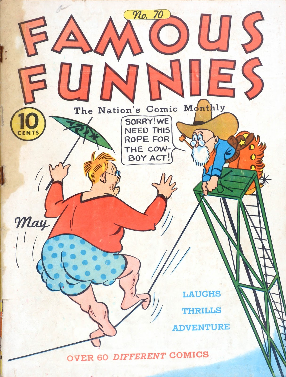 Read online Famous Funnies comic -  Issue #70 - 1