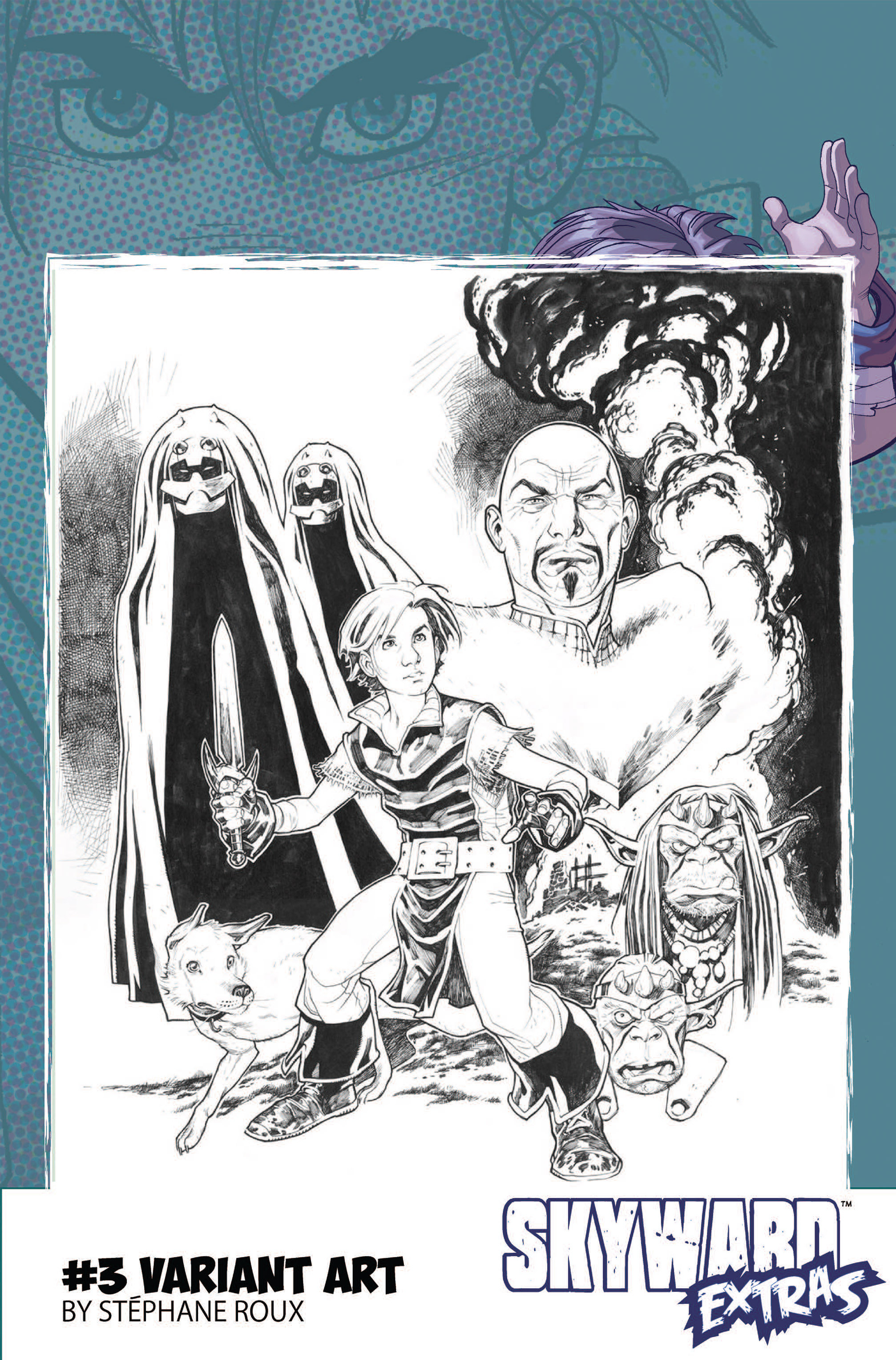 Read online Skyward comic -  Issue #3 - 27