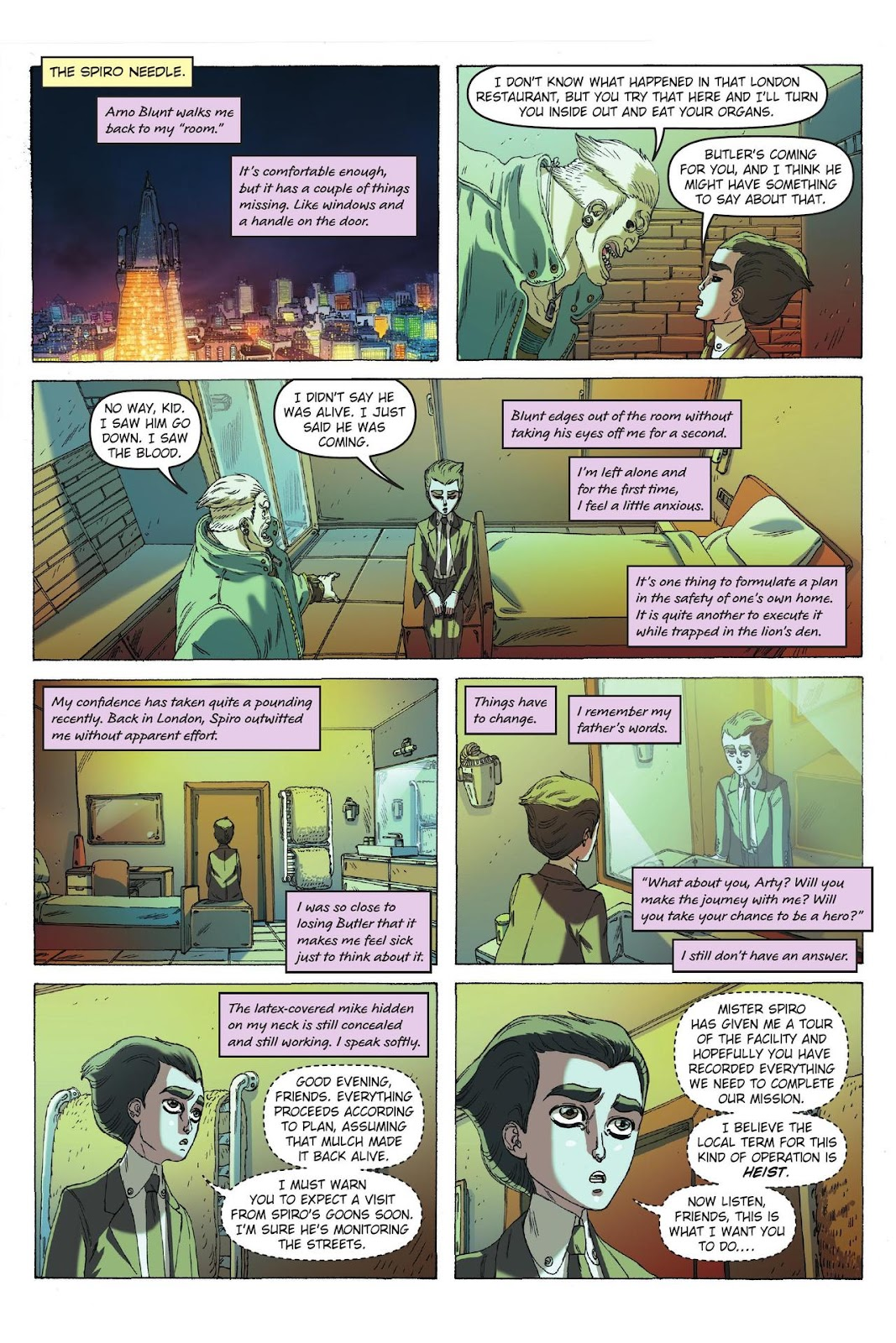 Artemis Fowl: The Eternity Code issue TPB - Page 79