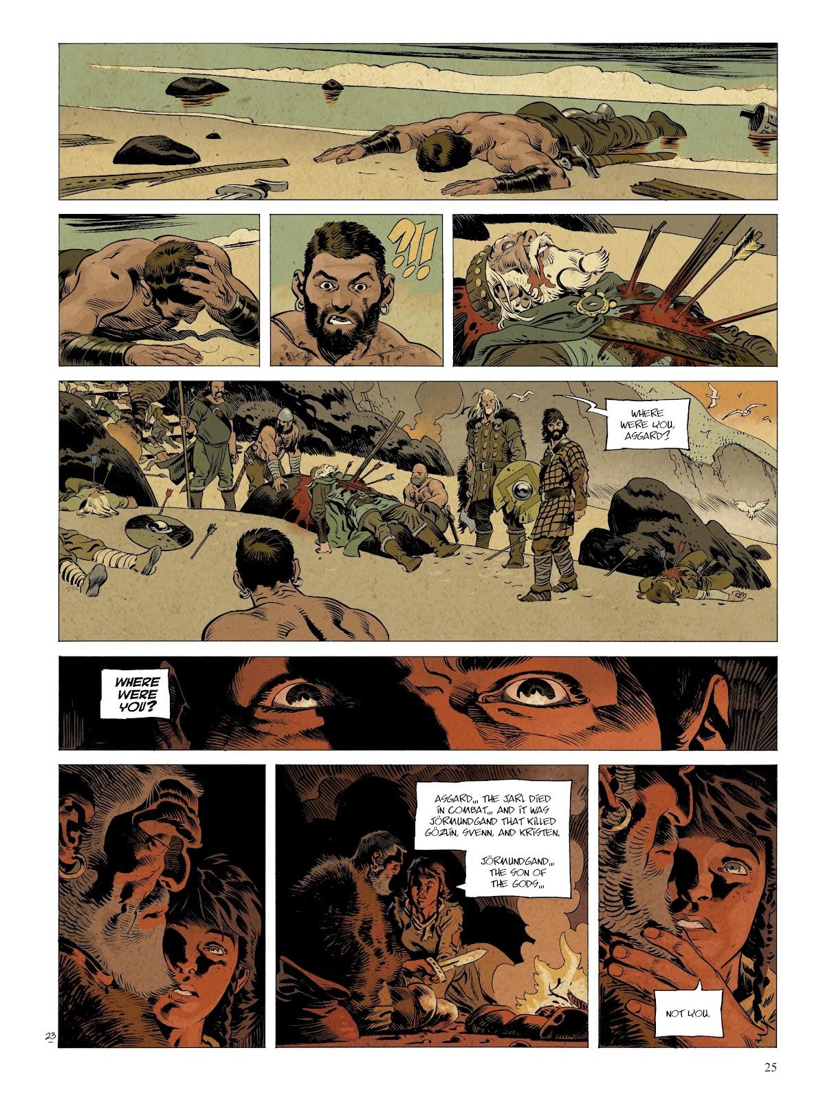 Read online Asgard comic -  Issue #2 - 27