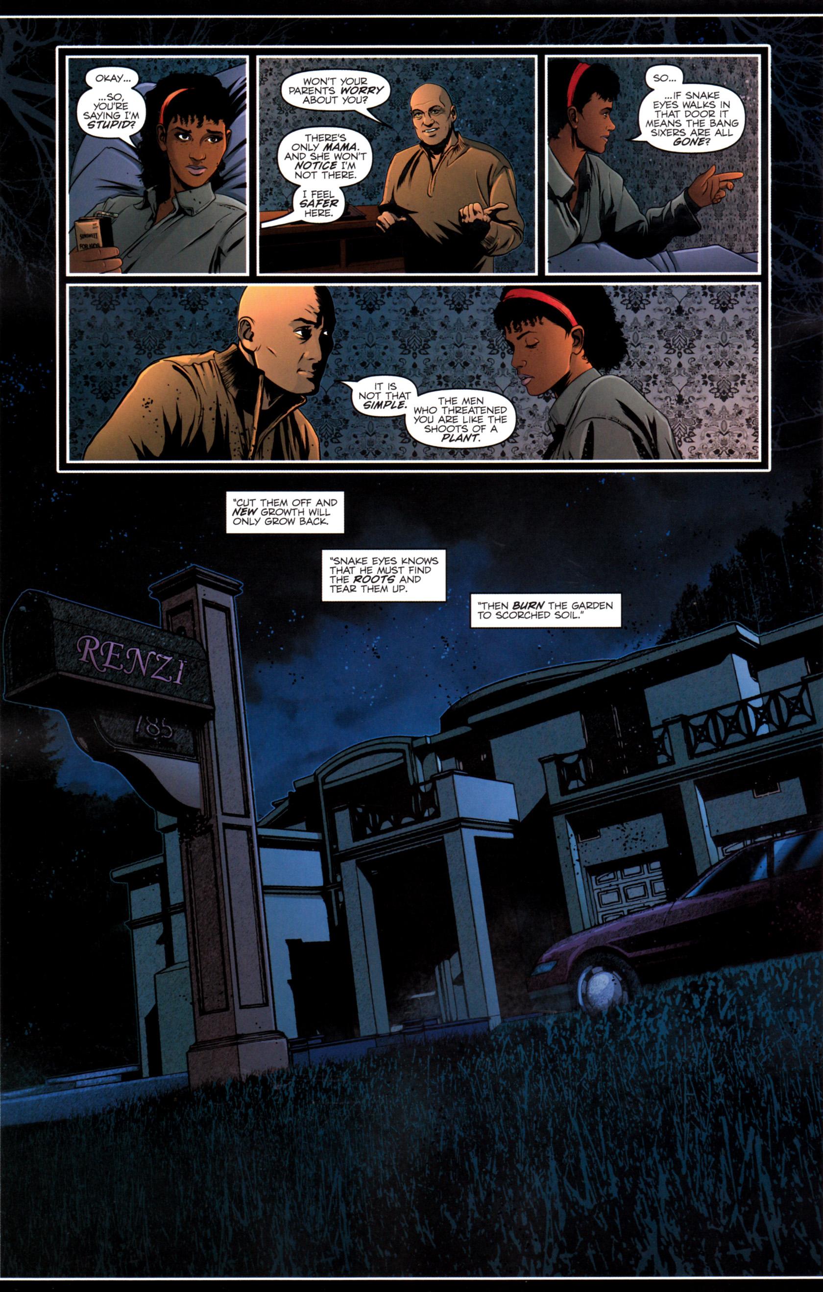 Read online G.I. Joe: Snake Eyes comic -  Issue #12 - 21