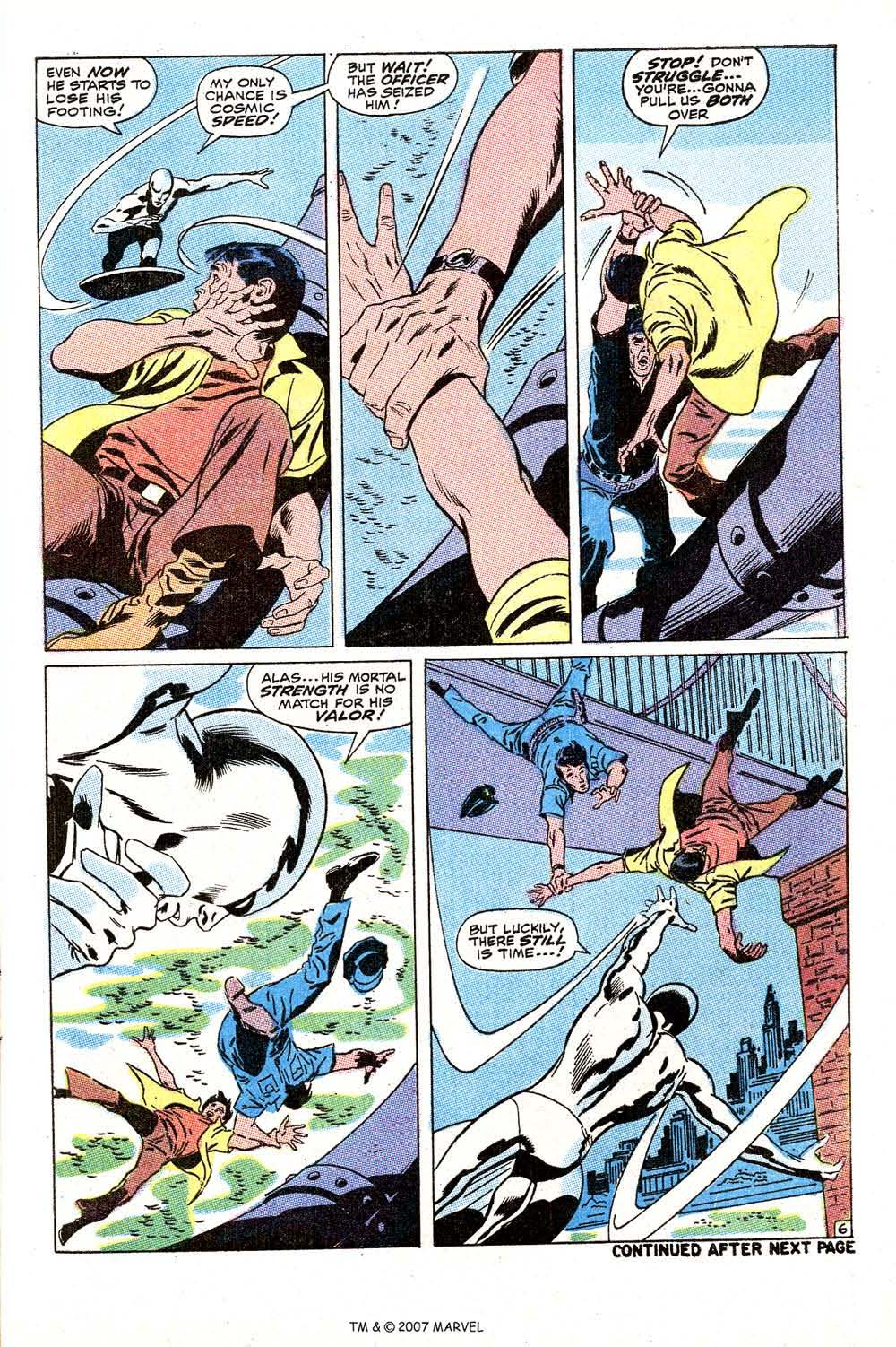 Read online Silver Surfer (1968) comic -  Issue #10 - 9