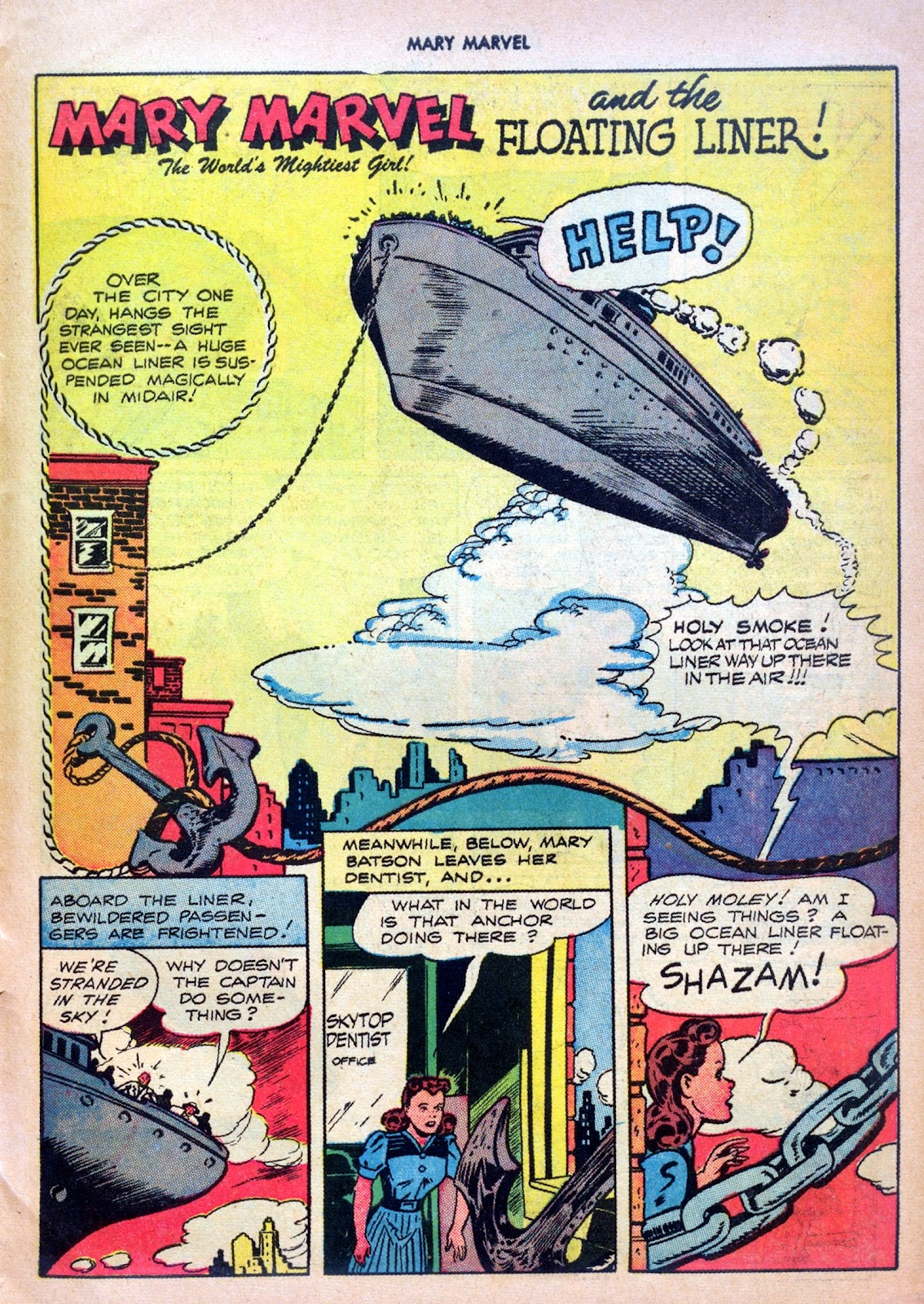 Read online Mary Marvel comic -  Issue #27 - 27