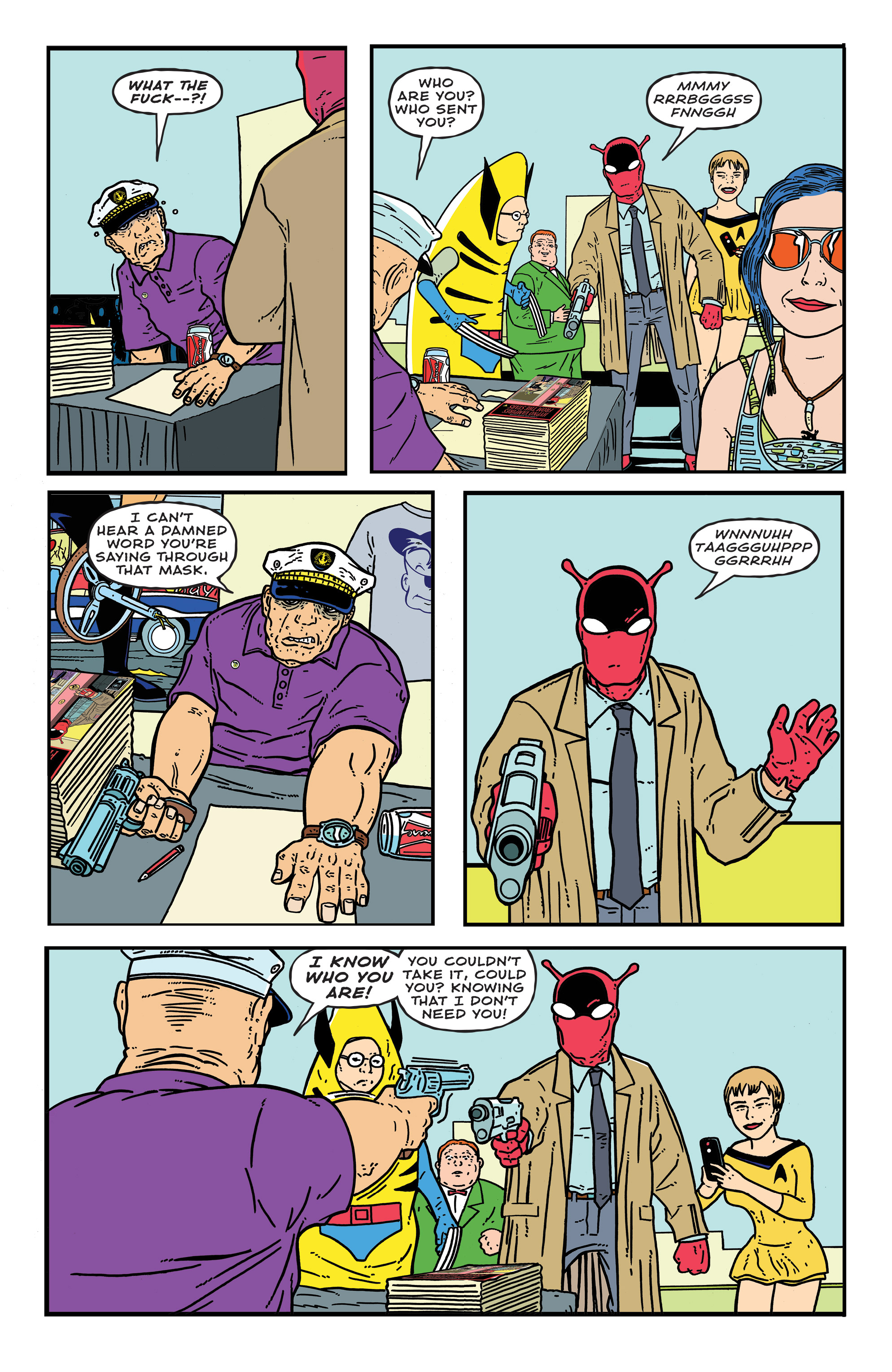 Read online Bulletproof Coffin: The Thousand Yard Stare comic -  Issue # Full - 24