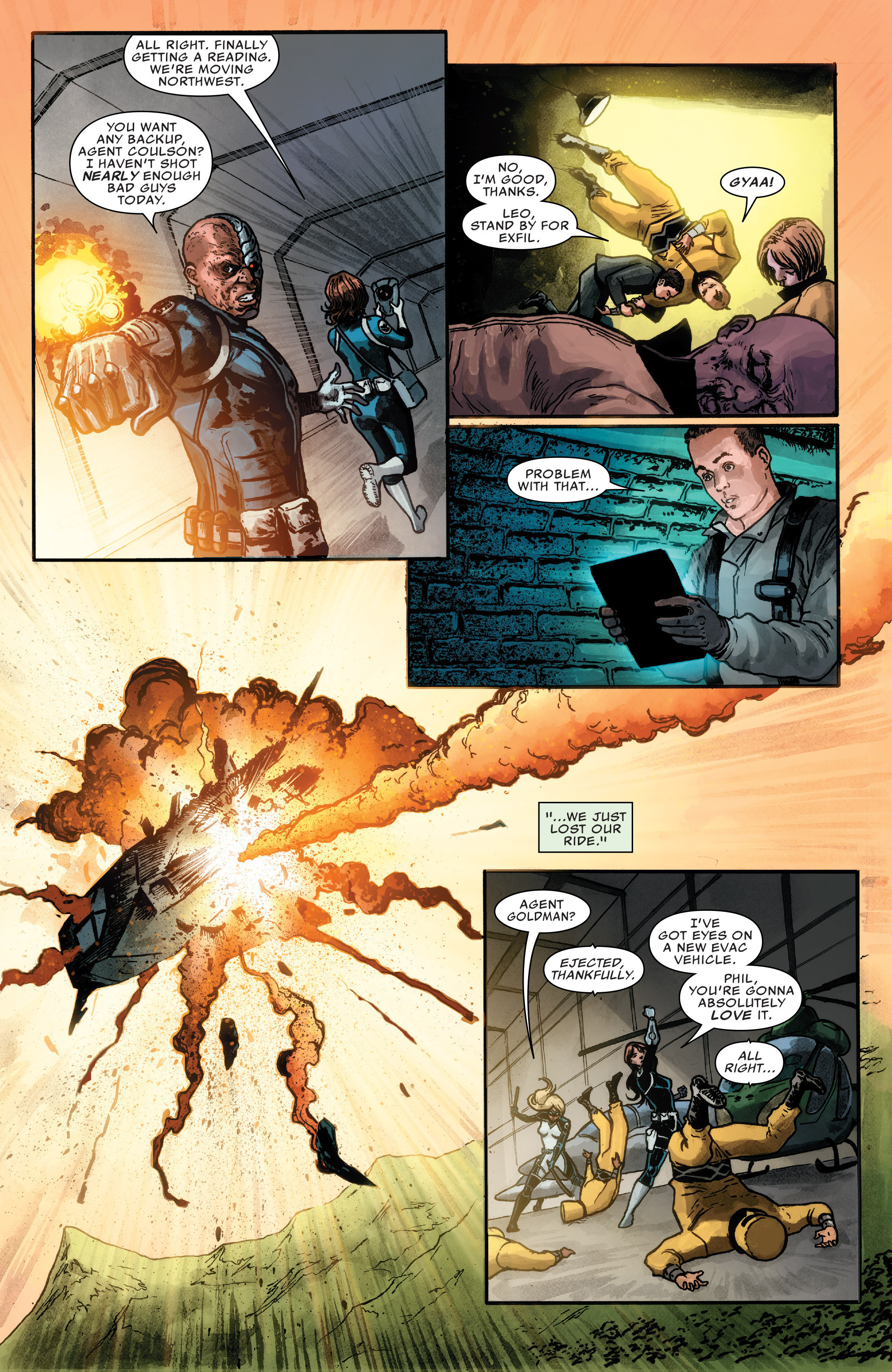 Read online Agents of S.H.I.E.L.D. comic -  Issue #1 - 9