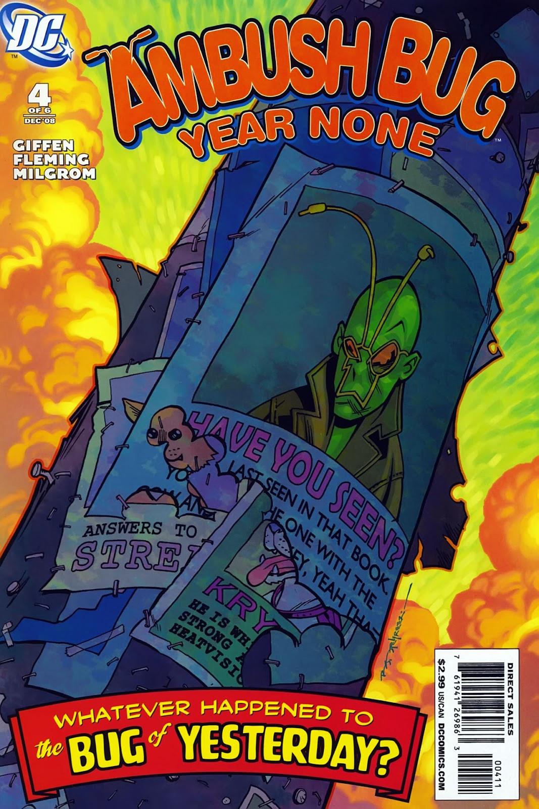 Ambush Bug: Year None issue 4 - Page 1