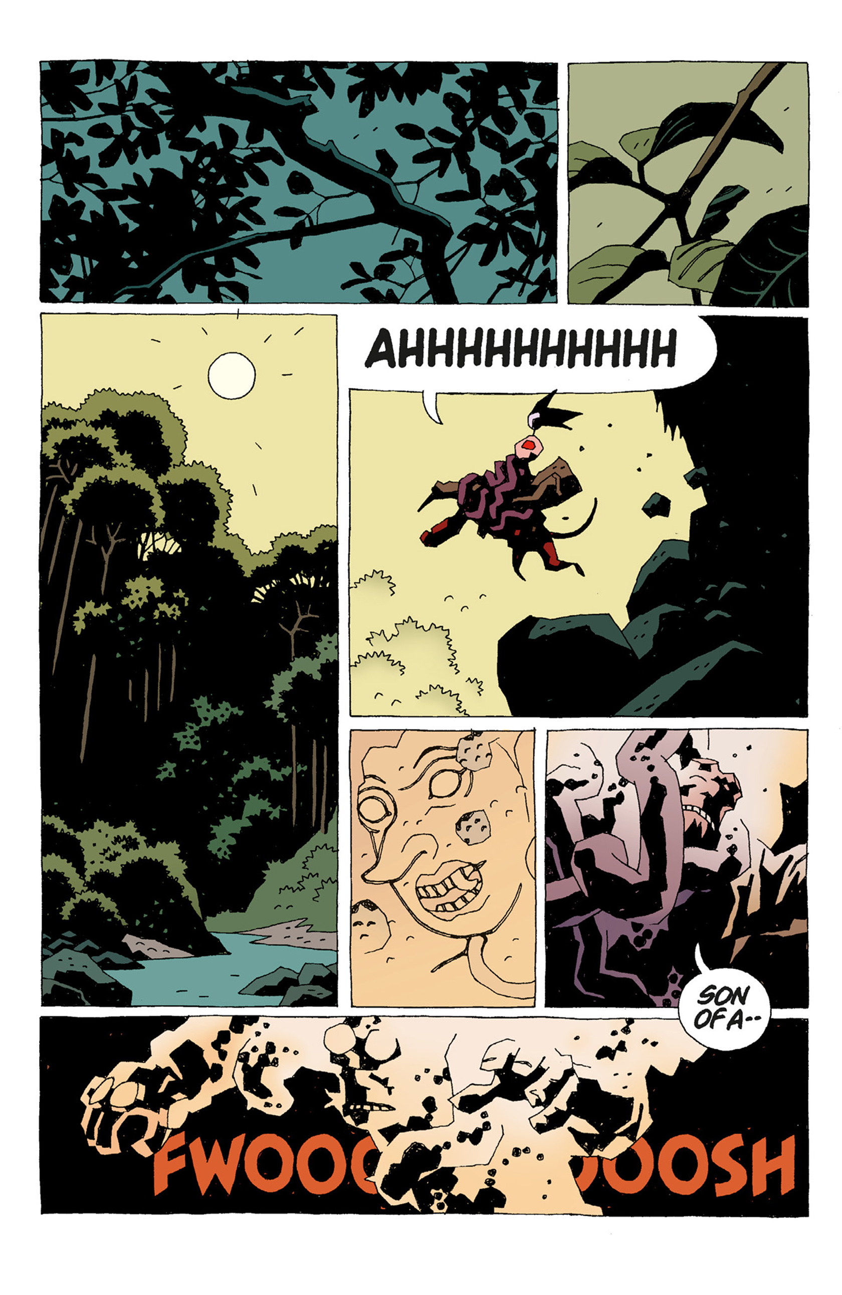 Read online Hellboy: The Troll Witch and Others comic -  Issue # TPB - 14